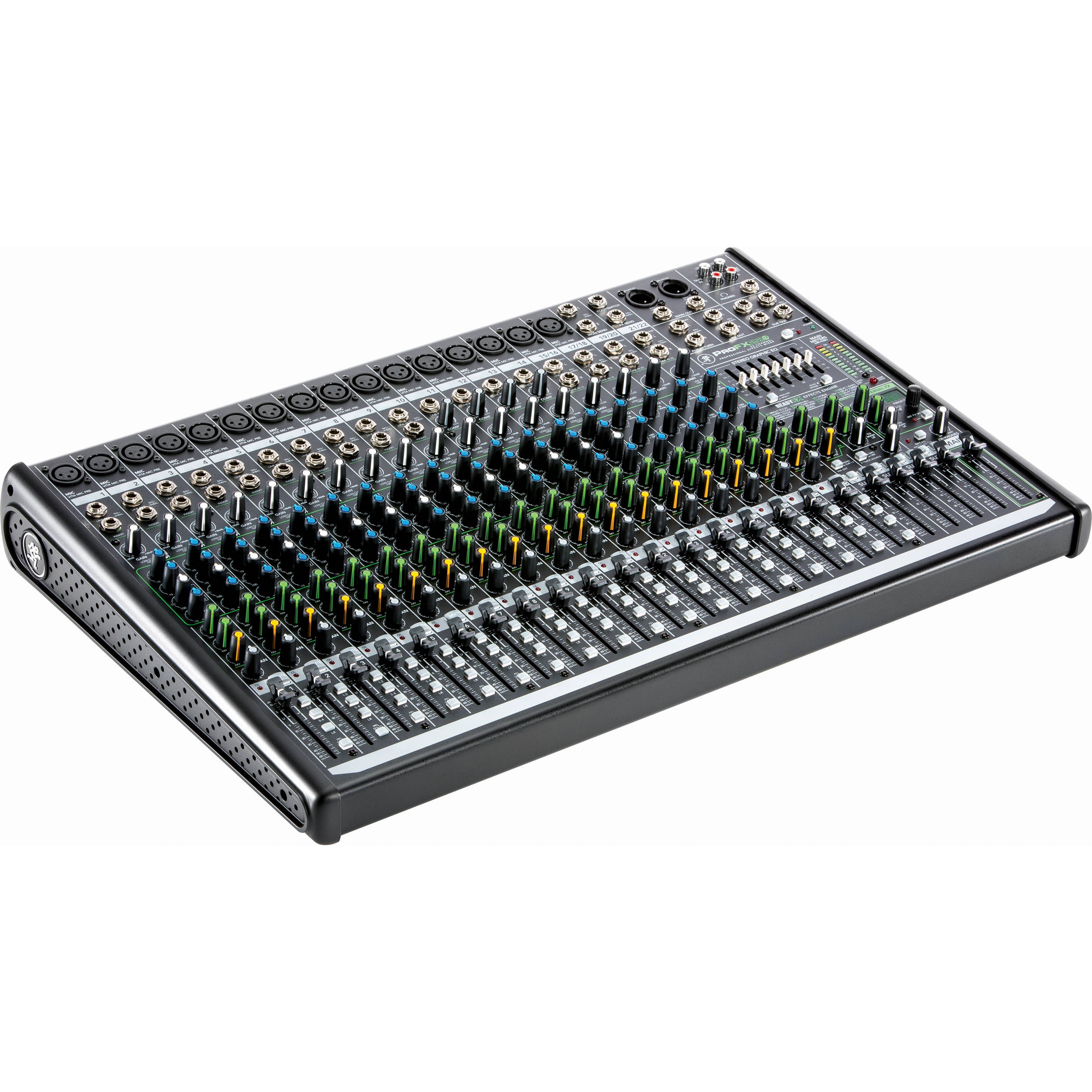 Right Angle Mixer : Mackie profx v channel sound reinforcement mixer