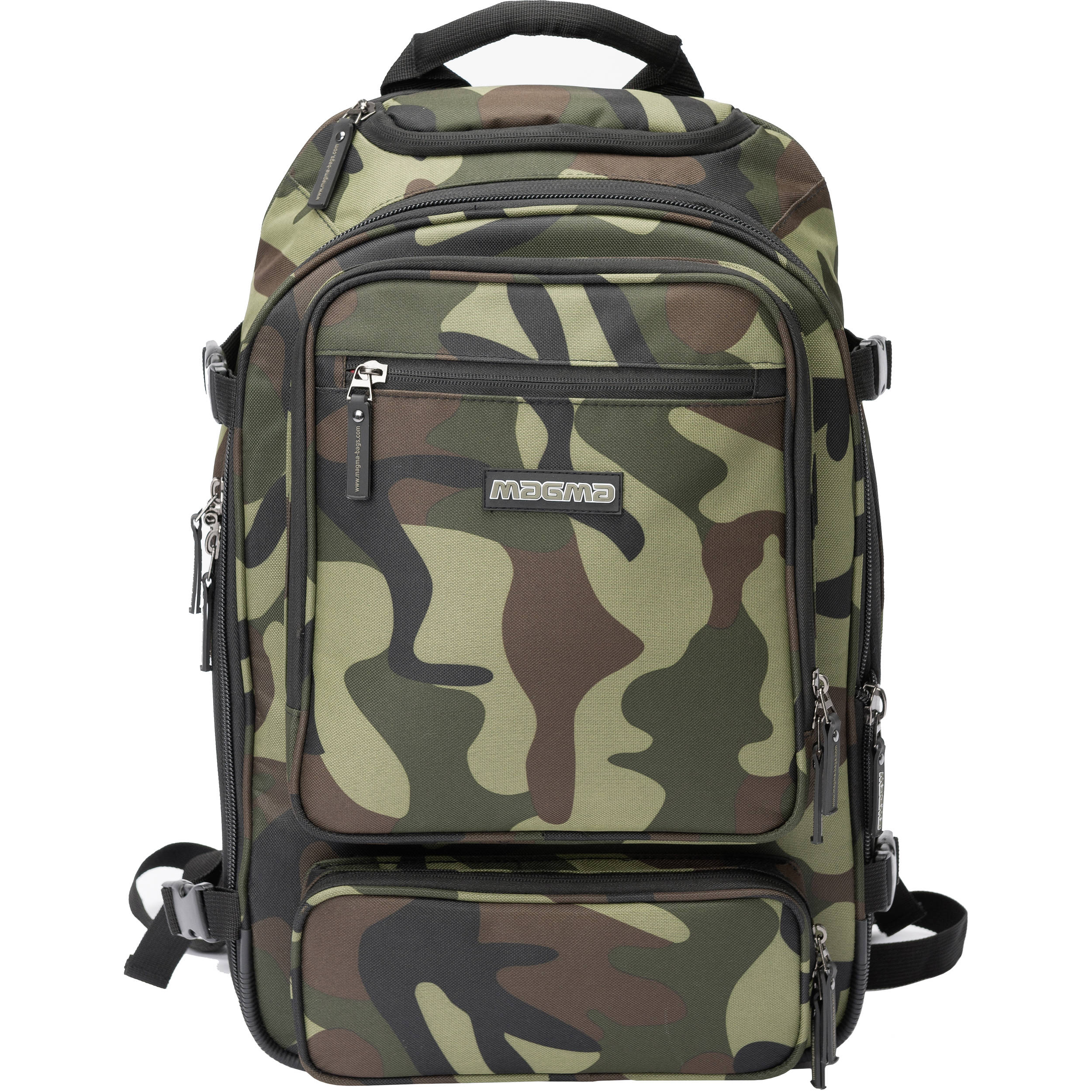 Magma Bags Digi Dj Backpack Camo Green Red