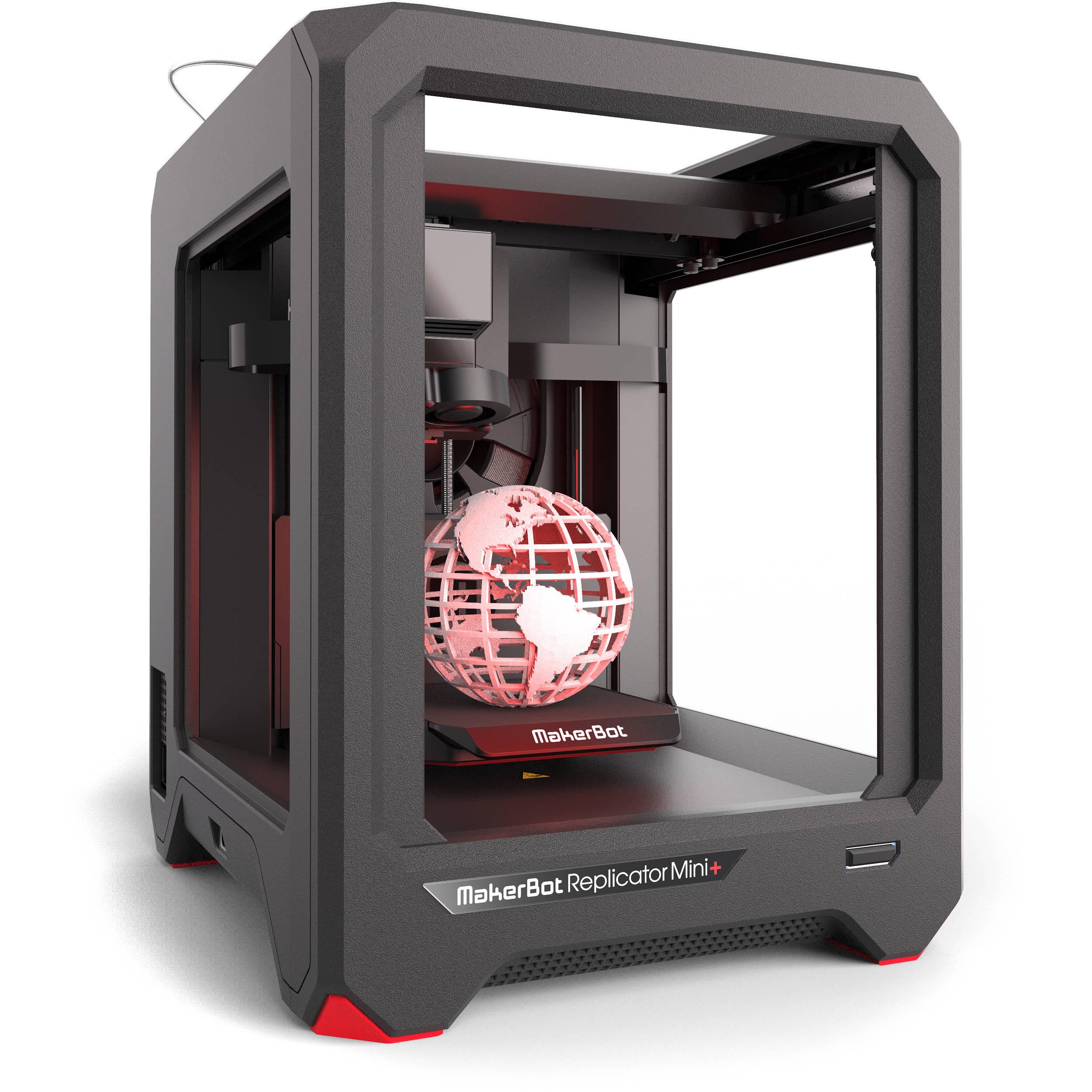 makerbot replicator mini 3d printer mp07925 b h photo video. Black Bedroom Furniture Sets. Home Design Ideas