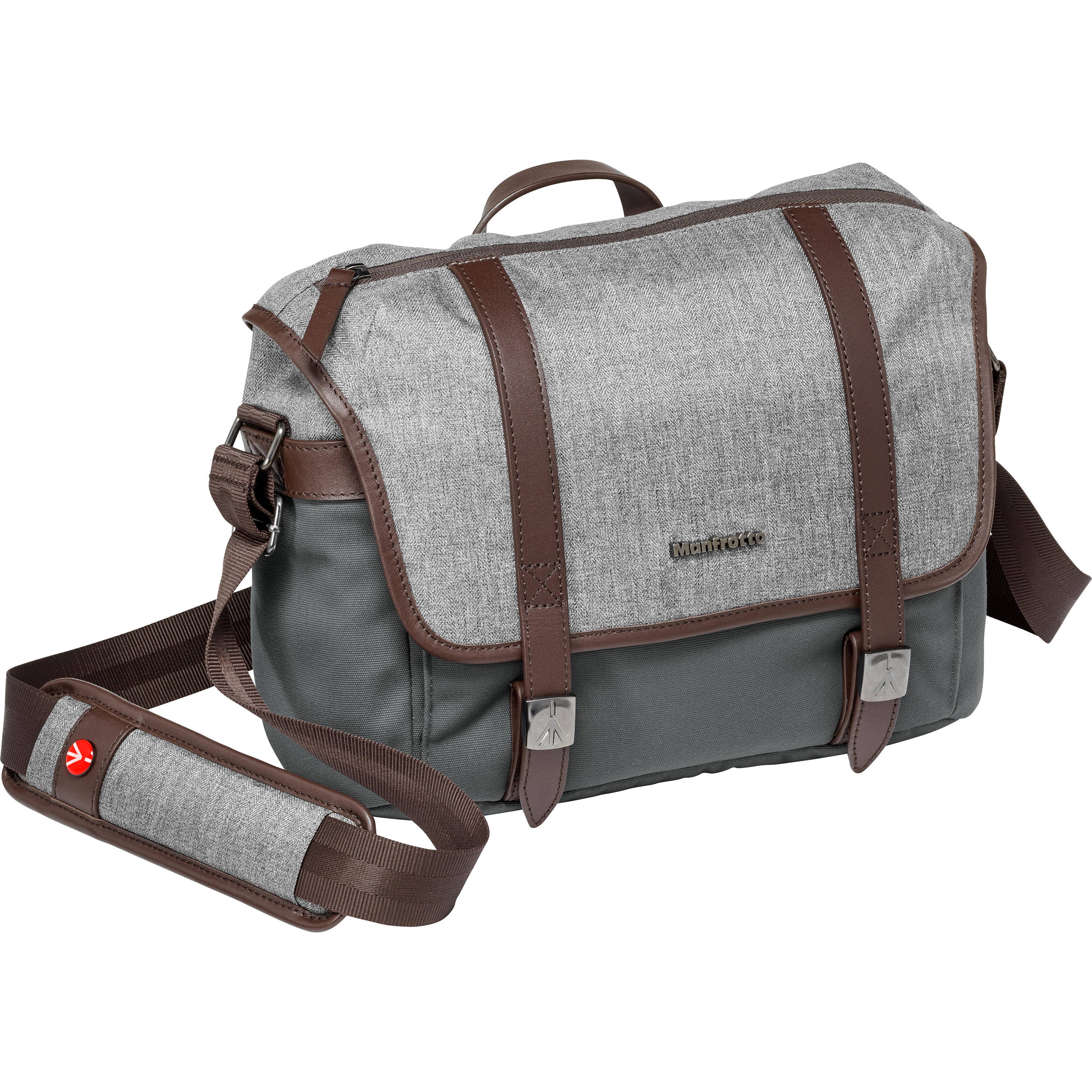 Manfrotto Windsor Camera Messenger Bag (Small, Gray) MB LF-WN-MS
