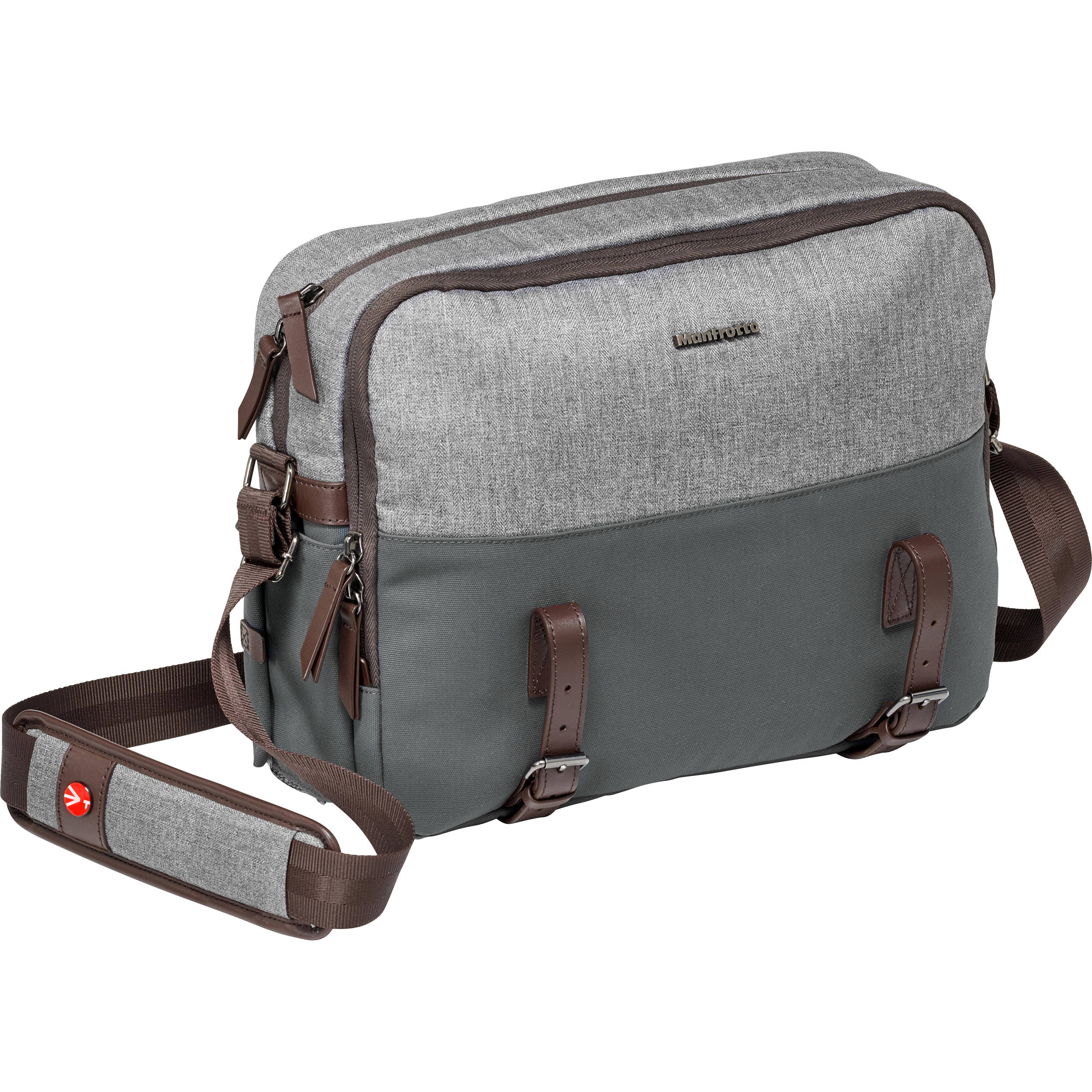 Manfrotto Windsor Camera Reporter Bag for DSLR (Gray) 661b4731641be