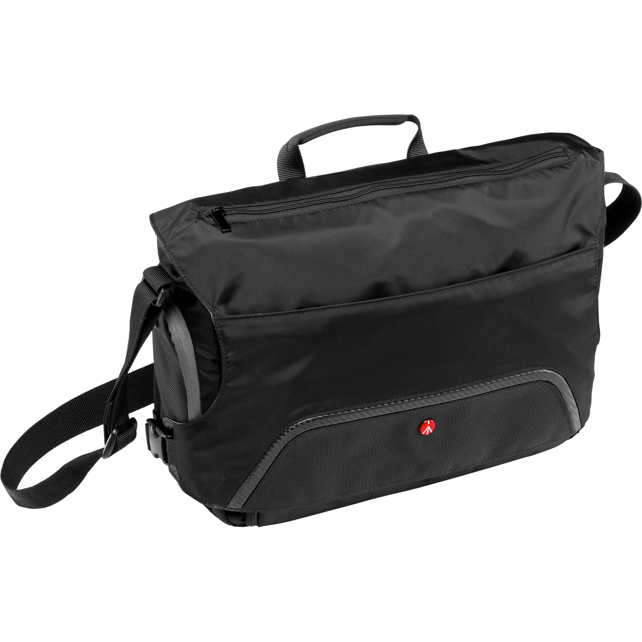 cb1dbcad18 Manfrotto Large Advanced Befree Messenger Bag (Black) MB MA-M-A