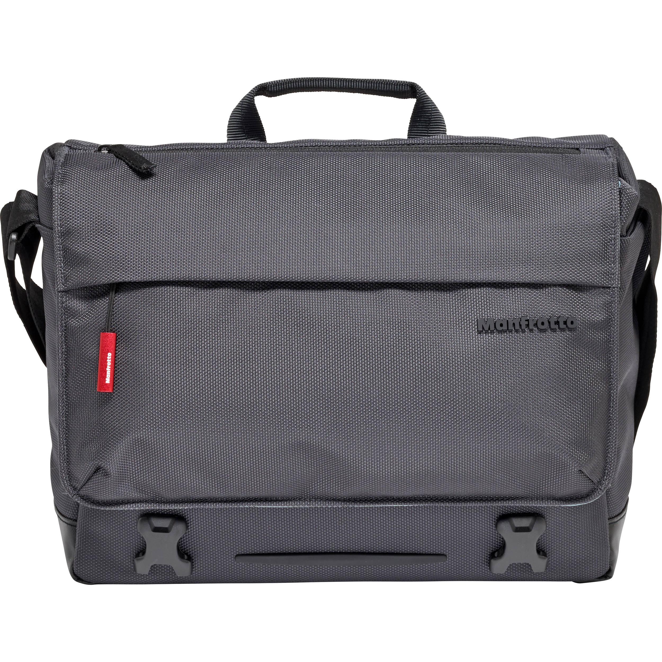 Manfrotto Manhattan Sdy 10 Camera Messenger Bag Gray