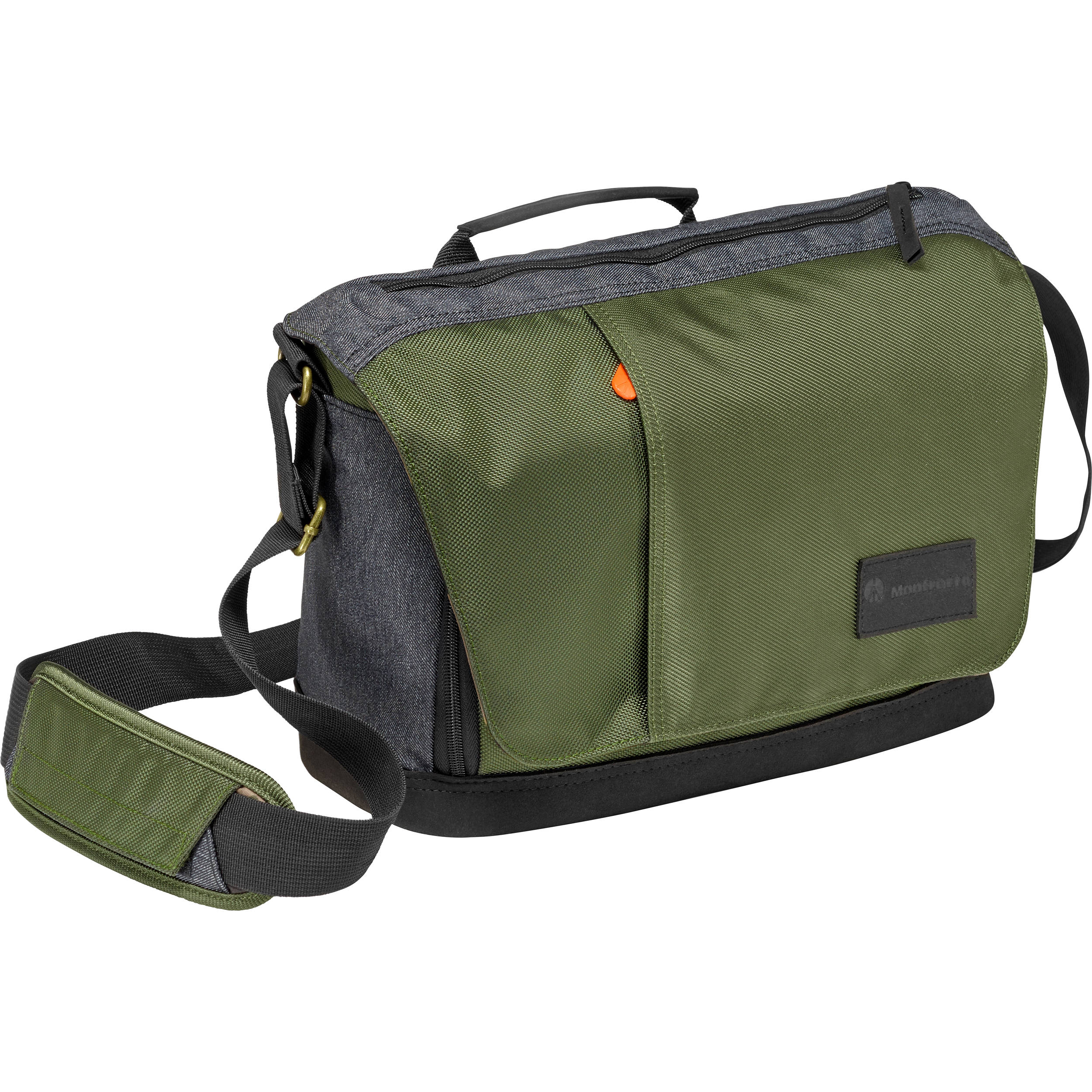 Manfrotto Street Camera Messenger Bag For Csc Dslr Green And Gray