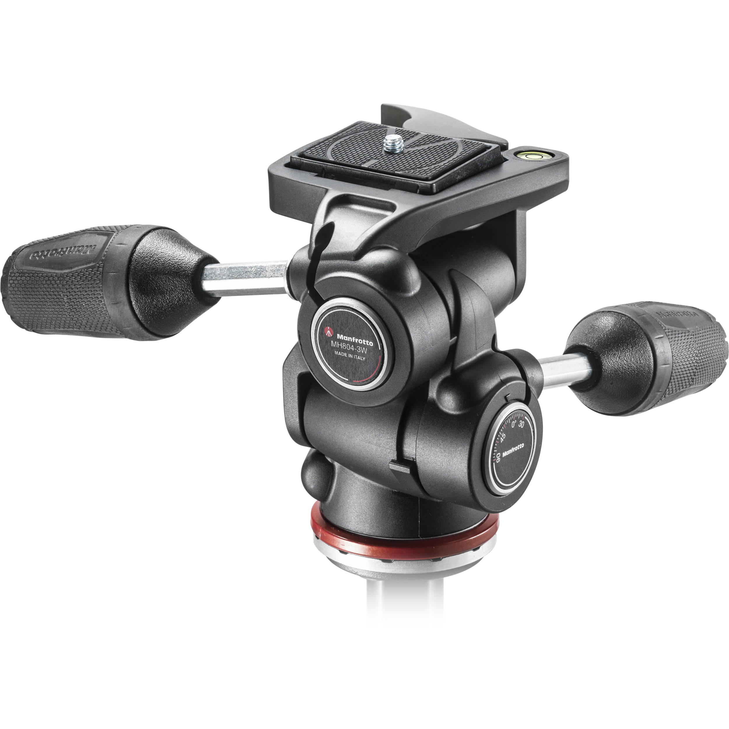 Manfrotto MH804 3-Way, Pan-and-Tilt Head with 200LT-PL