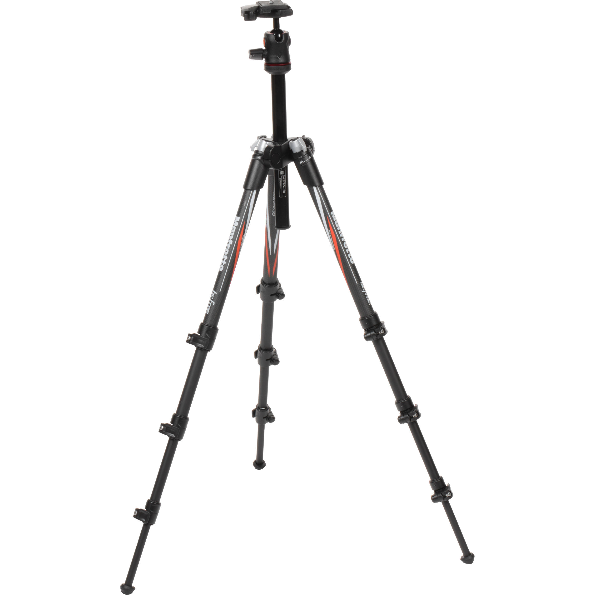 manfrotto befree compact travel carbon fiber tripod mkbfrc4