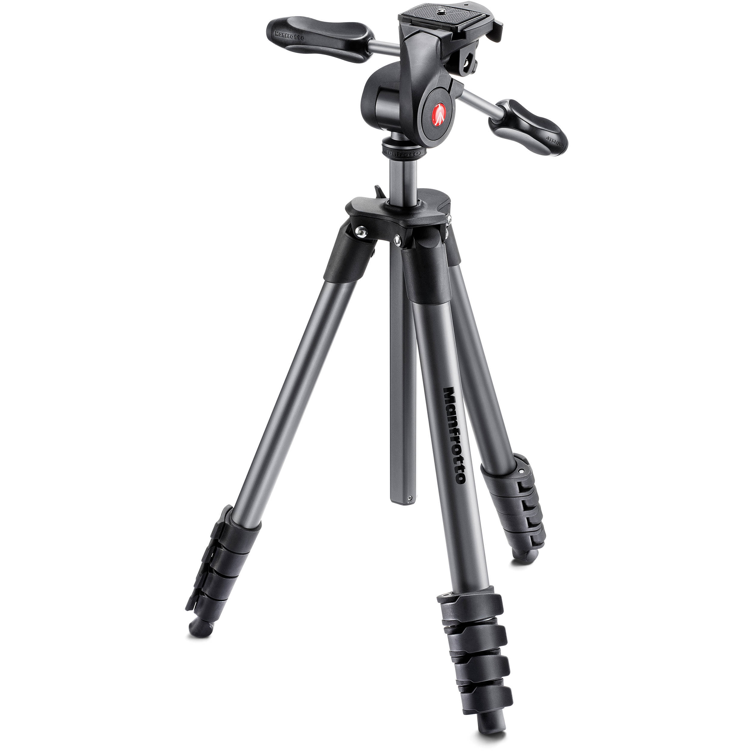 3D Super Pro 3-way tripod head with safety catch | Manfrotto