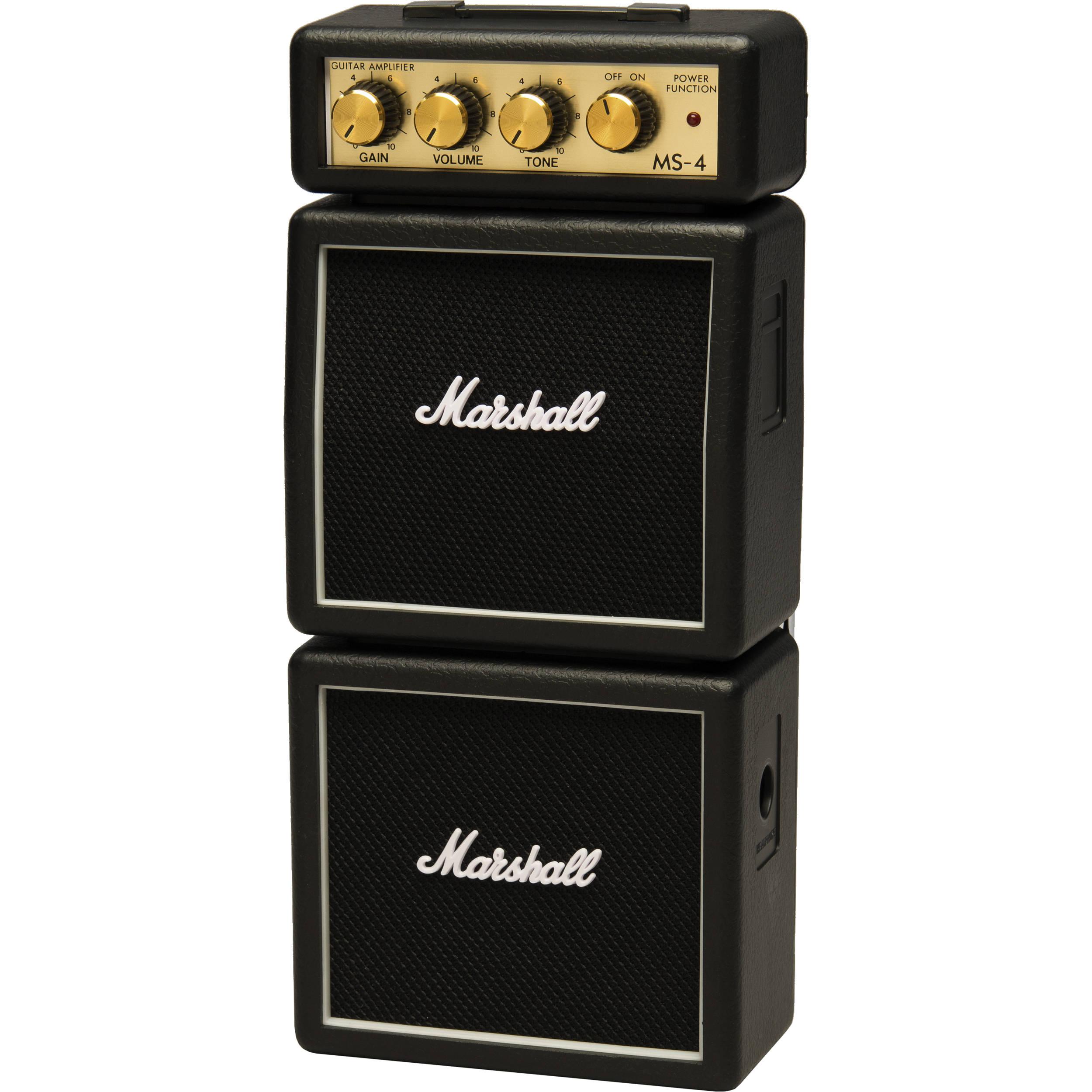 Marshall Mini Amp : marshall amplification ms 4 micro stack mini practice m ms 4 u ~ Russianpoet.info Haus und Dekorationen