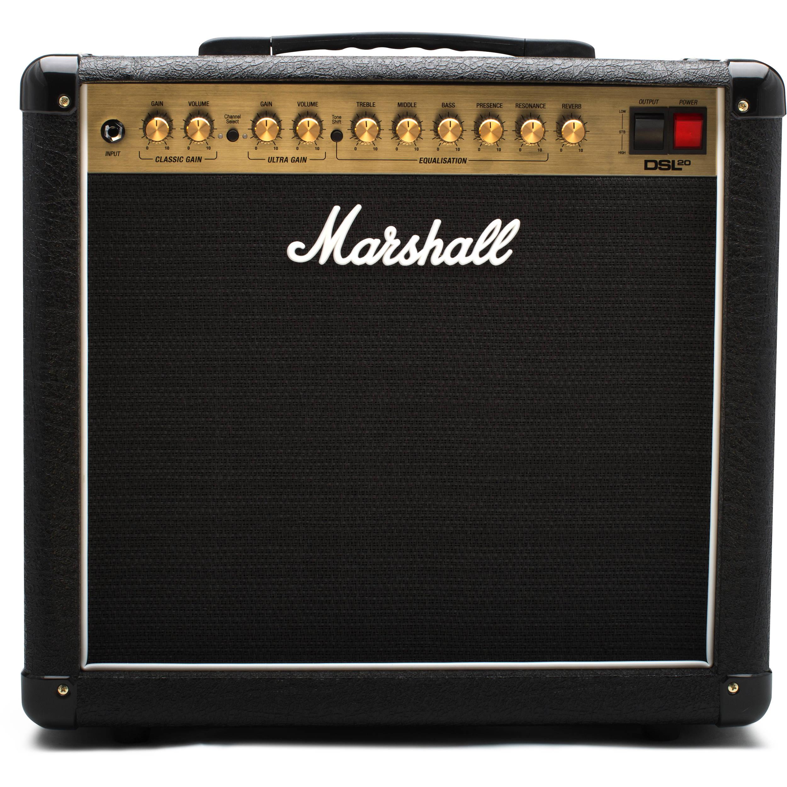 marshall amplification dsl20cr 2 channel valve combo m dsl20cr u. Black Bedroom Furniture Sets. Home Design Ideas