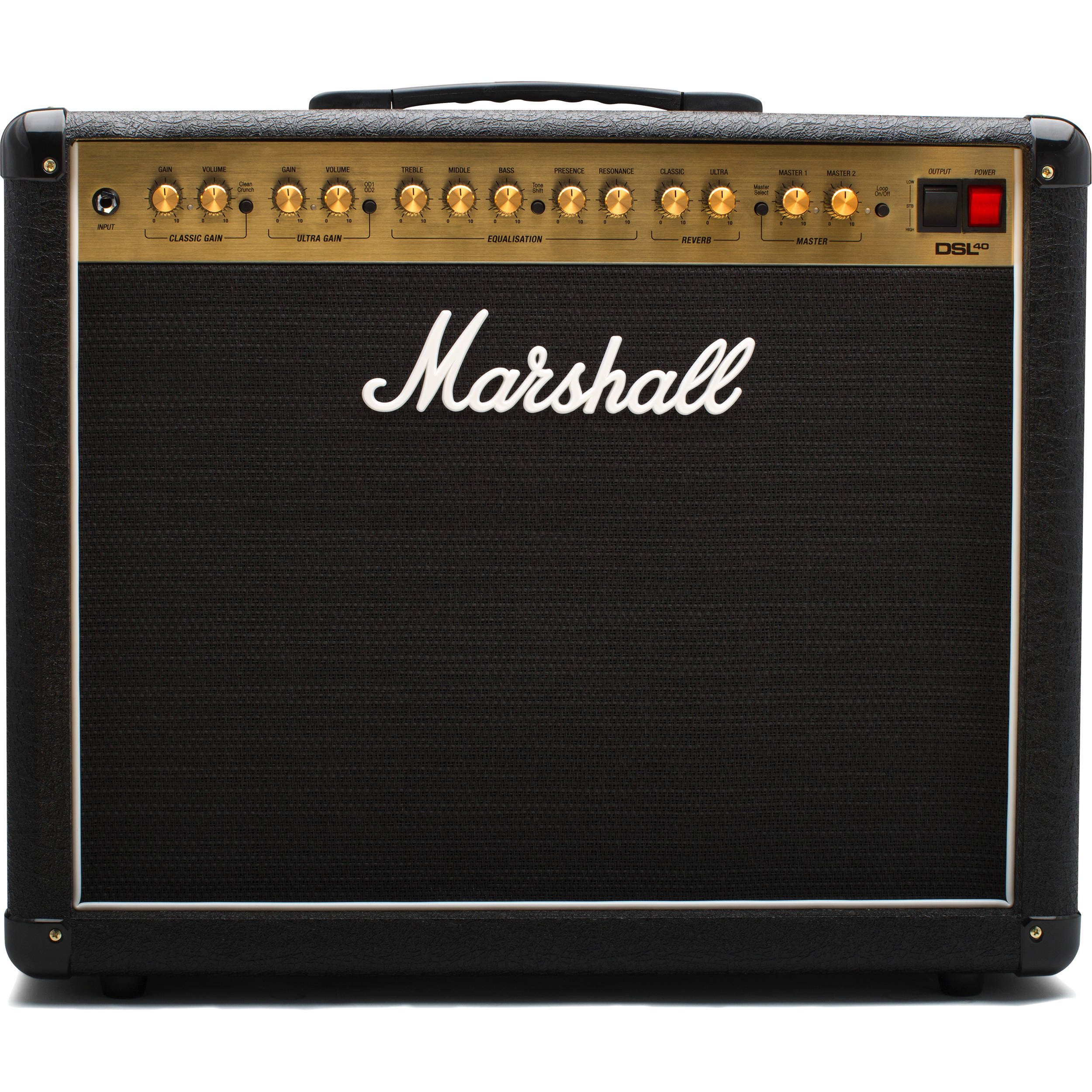 Marshall Amplification Dsl40cr 2 Channel Valve Combo Bh Amp Construction An Independent Amplifier Circuit Board Is Used For With Variable Output 40w