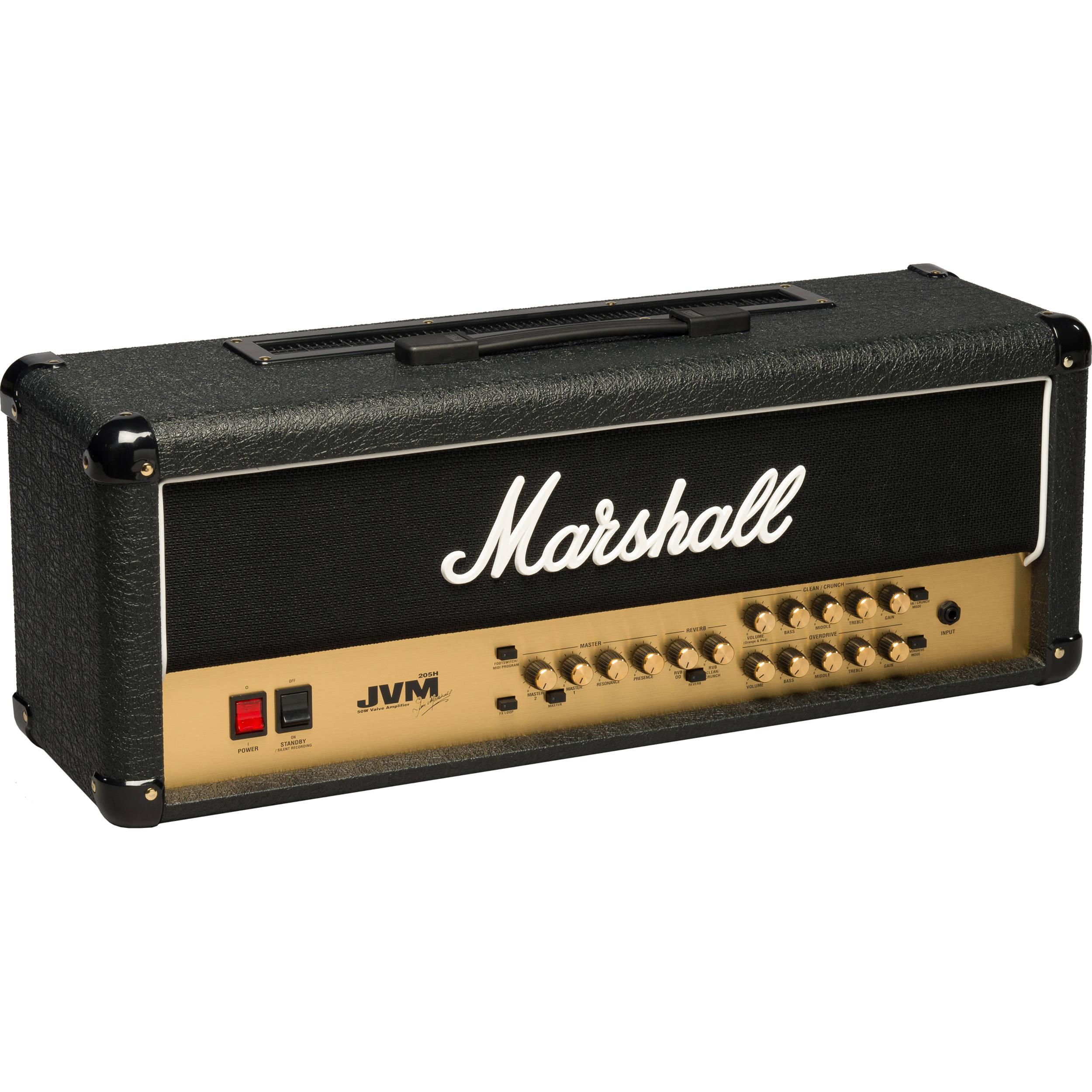 marshall amplification jvm205h 50w guitar amplifier m jvm205h u. Black Bedroom Furniture Sets. Home Design Ideas
