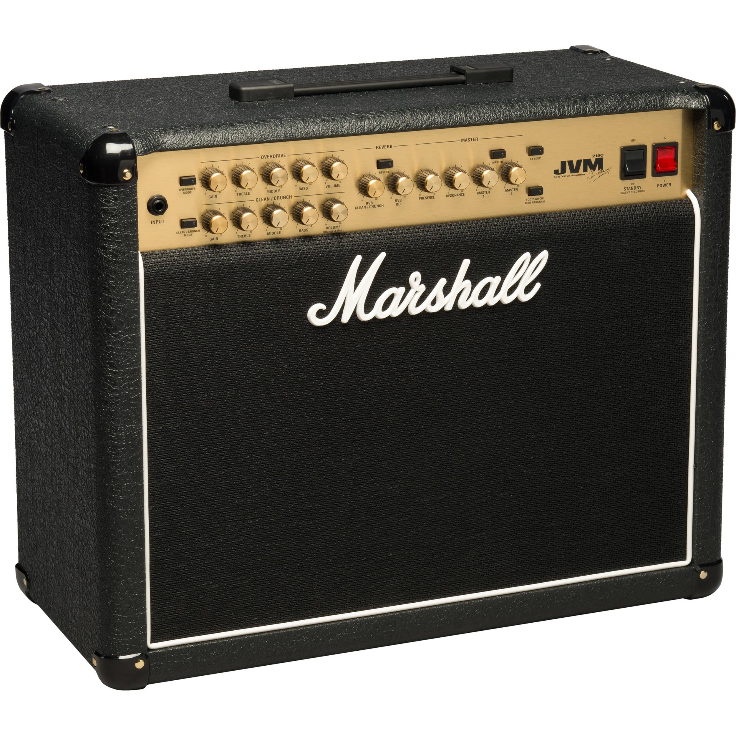 marshall amplification jvm215c 50w 1x12 combo m jvm215c u b h. Black Bedroom Furniture Sets. Home Design Ideas