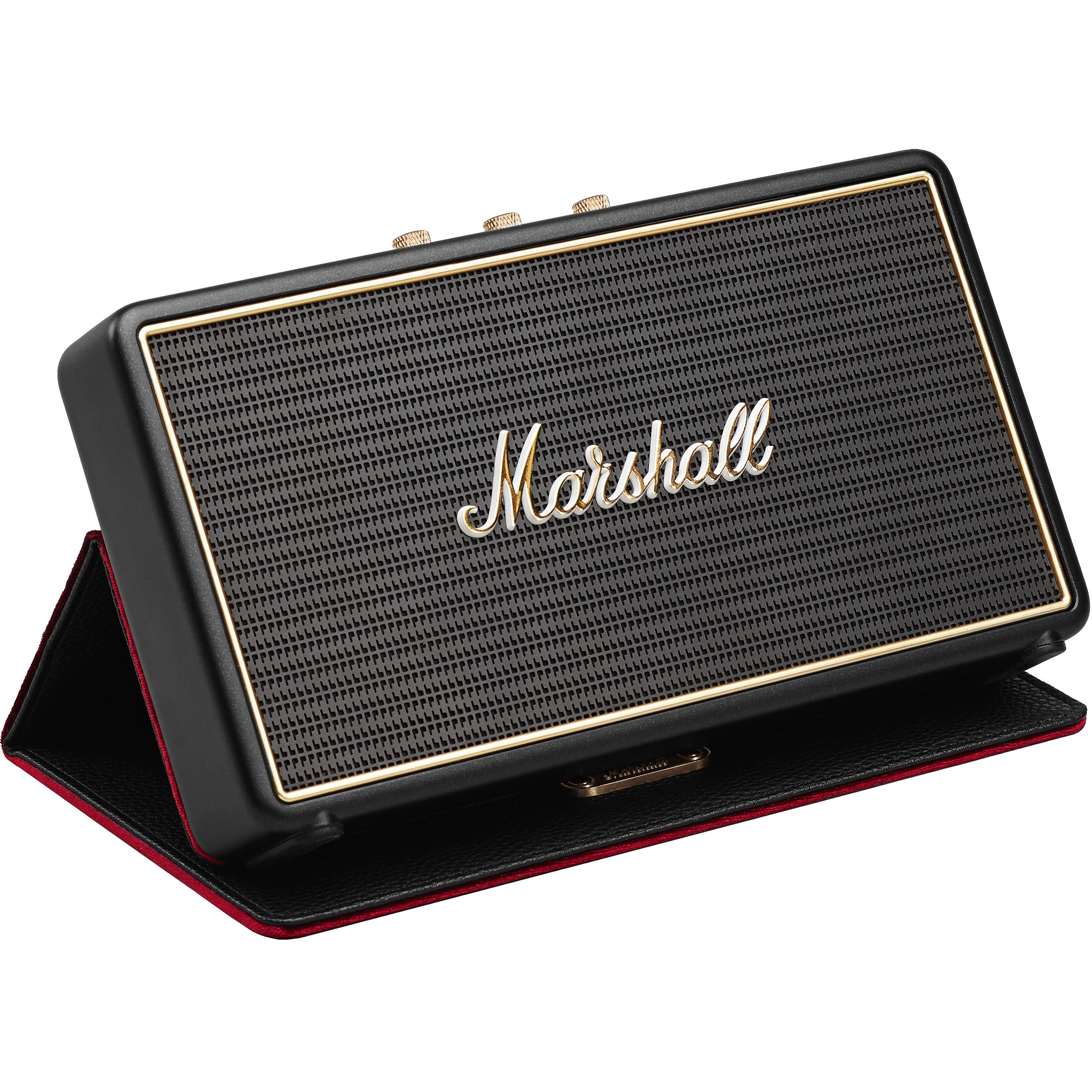 marshall audio stockwell portable bluetooth speaker. Black Bedroom Furniture Sets. Home Design Ideas
