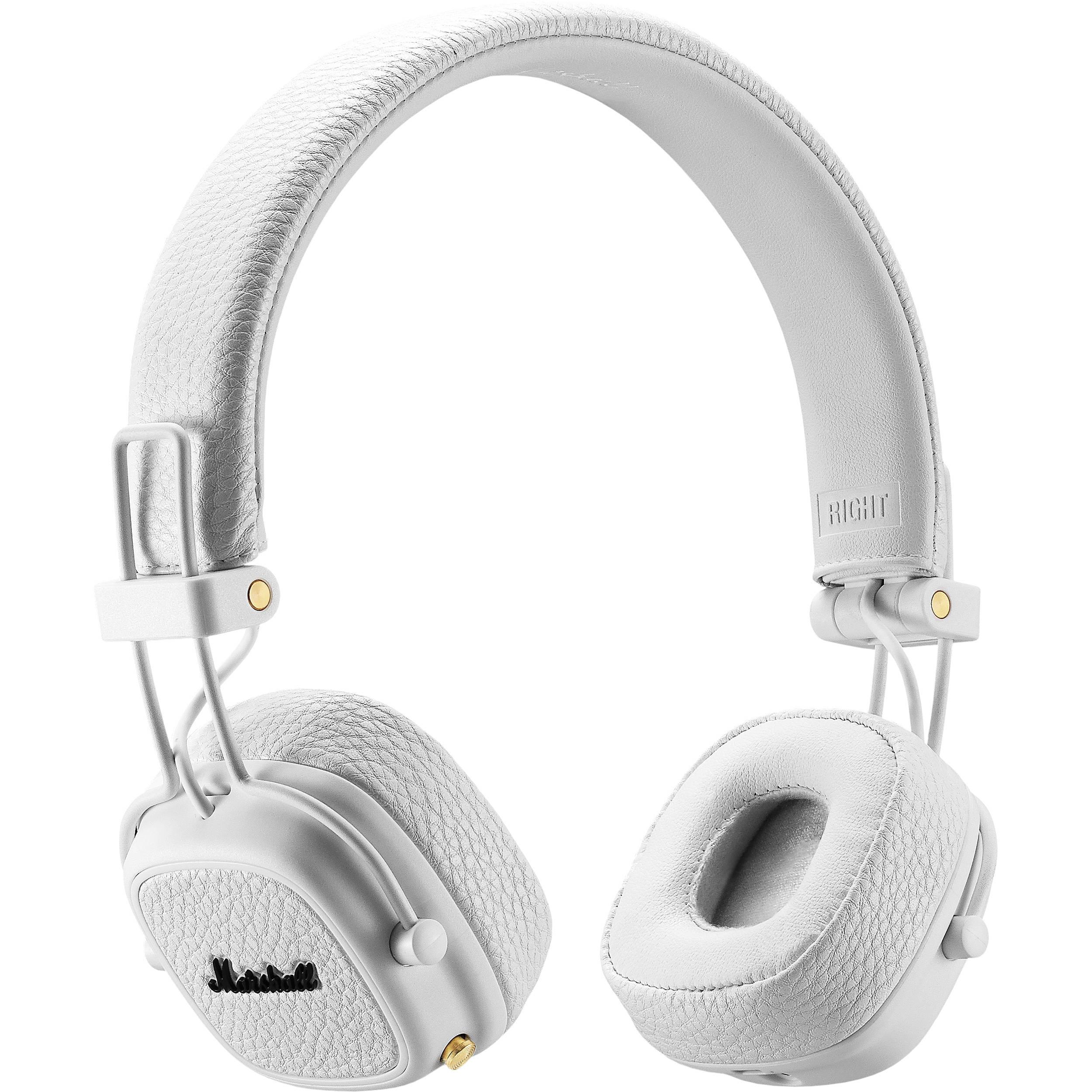 Marshall Major Iii Wireless On Ear Headphones White Mamajor3wh