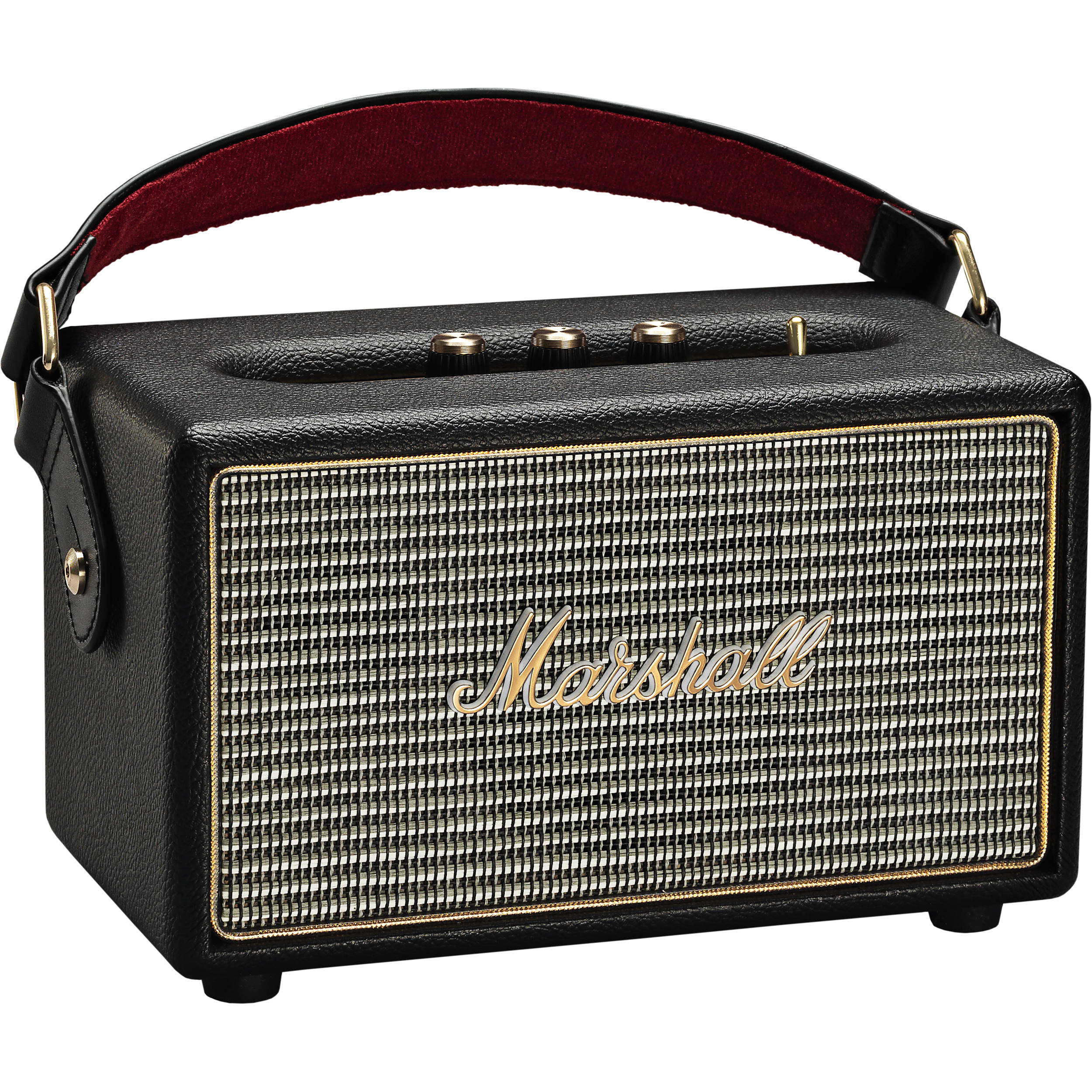 Marshall Audio Kilburn Portable Bluetooth Speaker Black