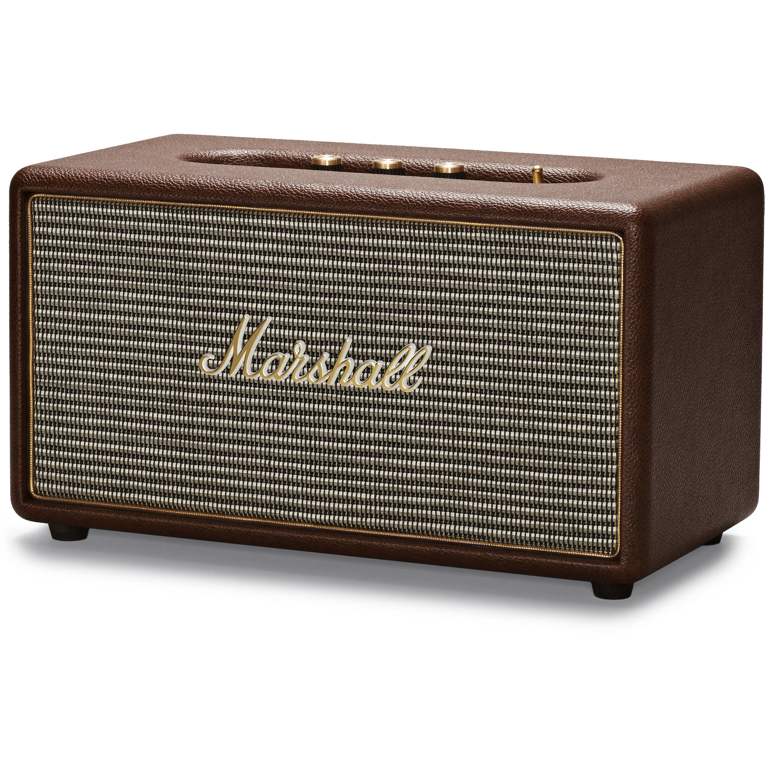 Marshall Audio Stanmore Bluetooth Speaker System Brown 4091628 Input Jack Wiring