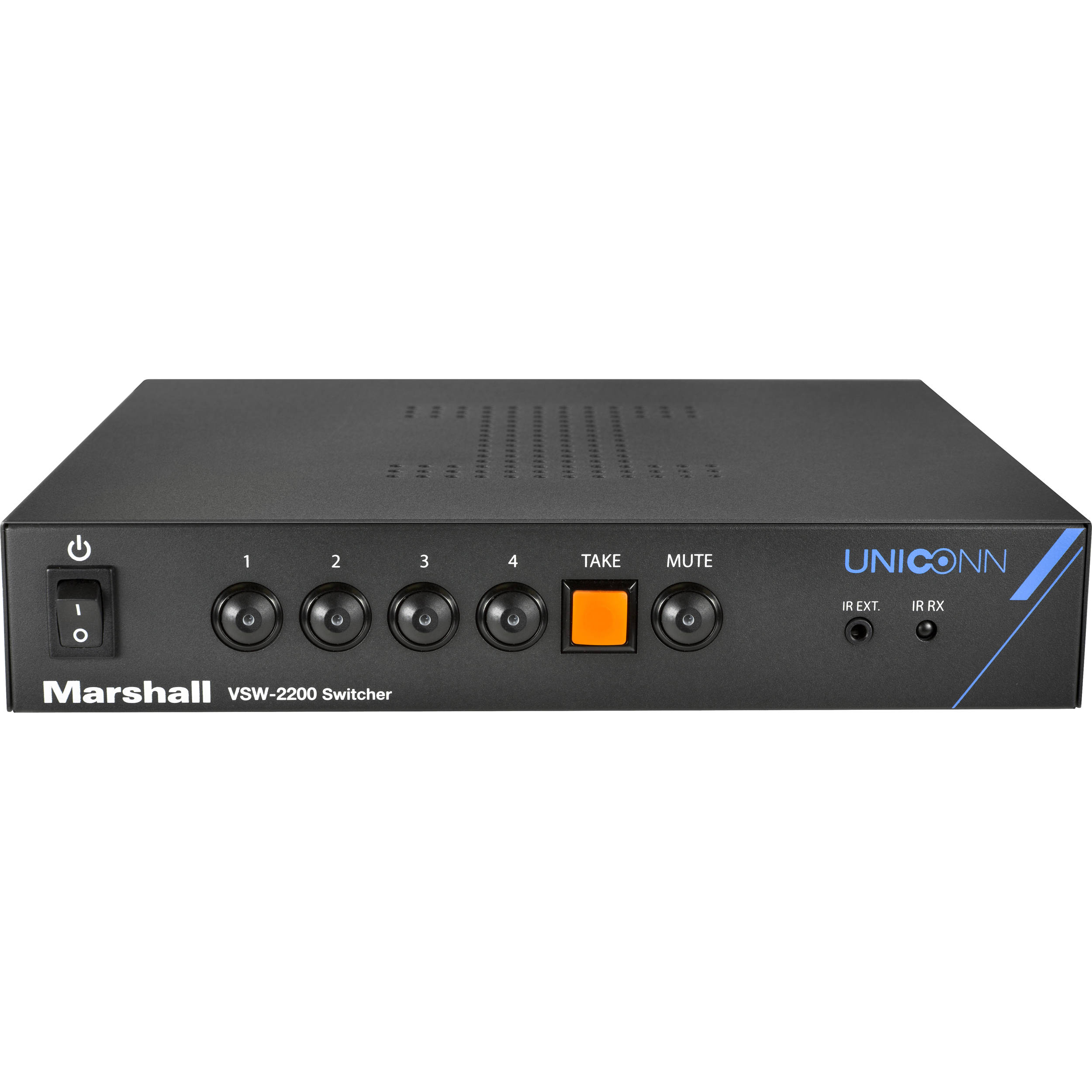 Marshall Electronics Vsw 2200 4x1 Seamless 3g Sdi Bh Rbvhda8 Hd Sdsdi 1 Input 8 Output Video Distribution Amplifier Switcher