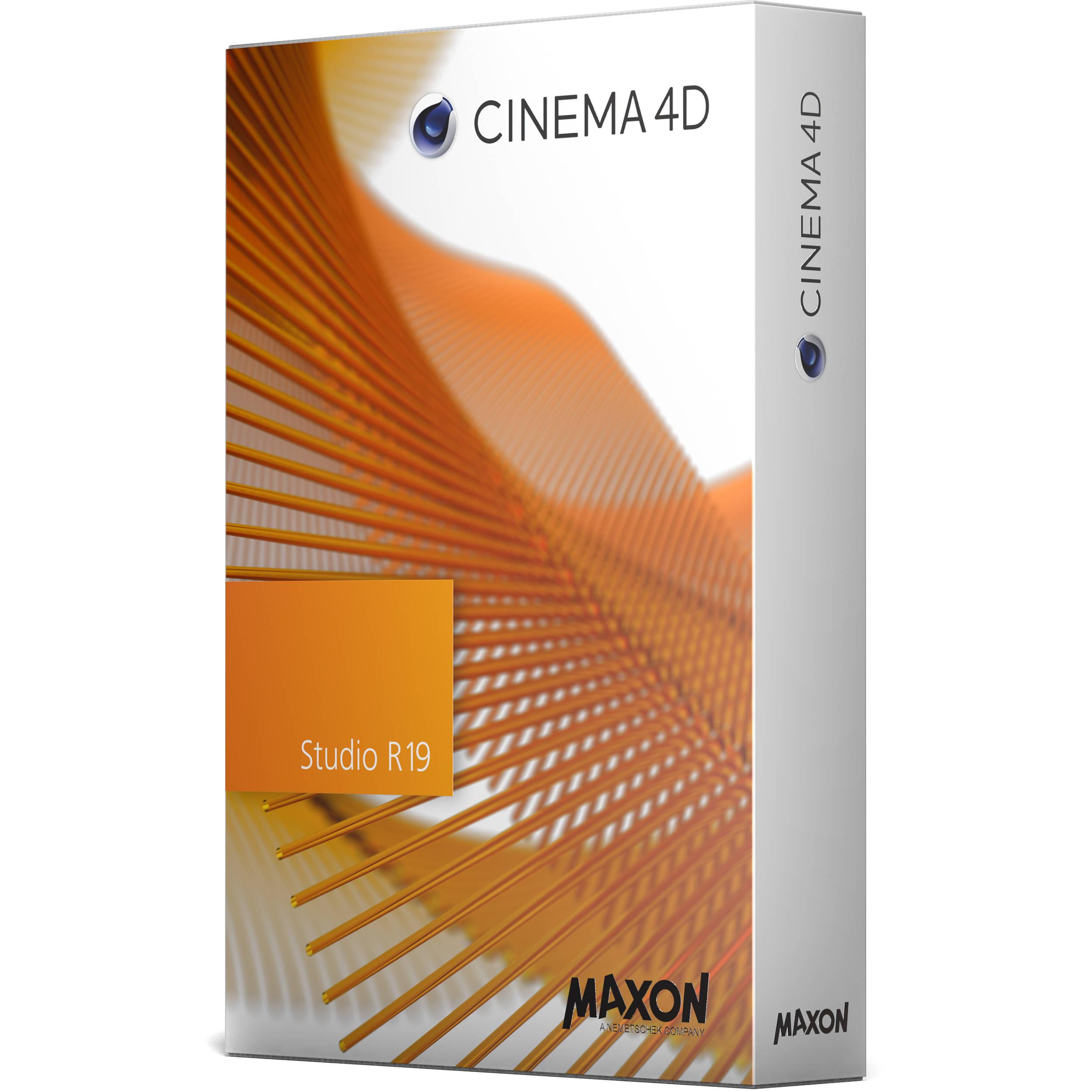 maxon cinema 4d studio r19 c4dsb n 19bup19 b h photo video. Black Bedroom Furniture Sets. Home Design Ideas