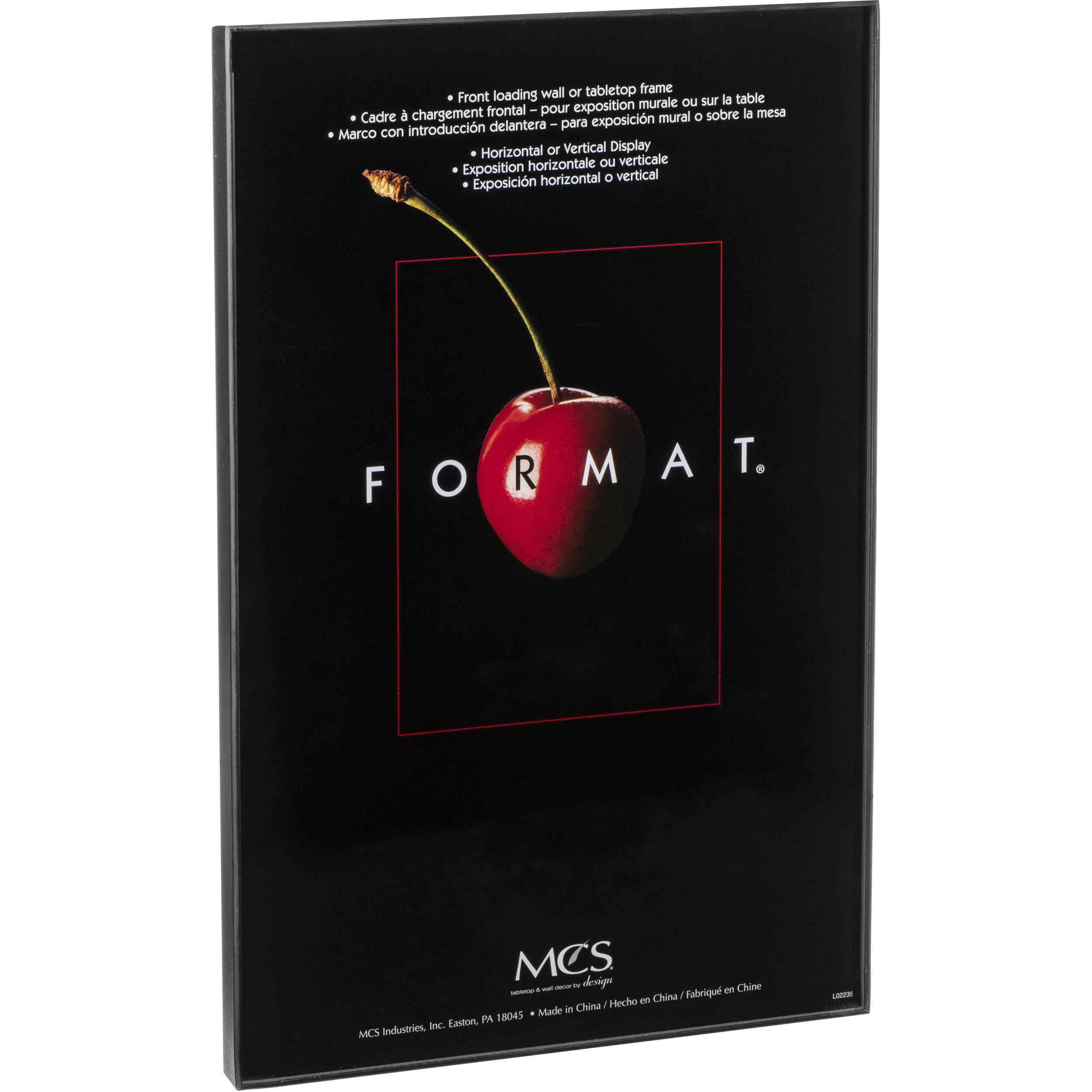 Mcs Format Frame 11 X 17 Black 12549 Bh Photo Video