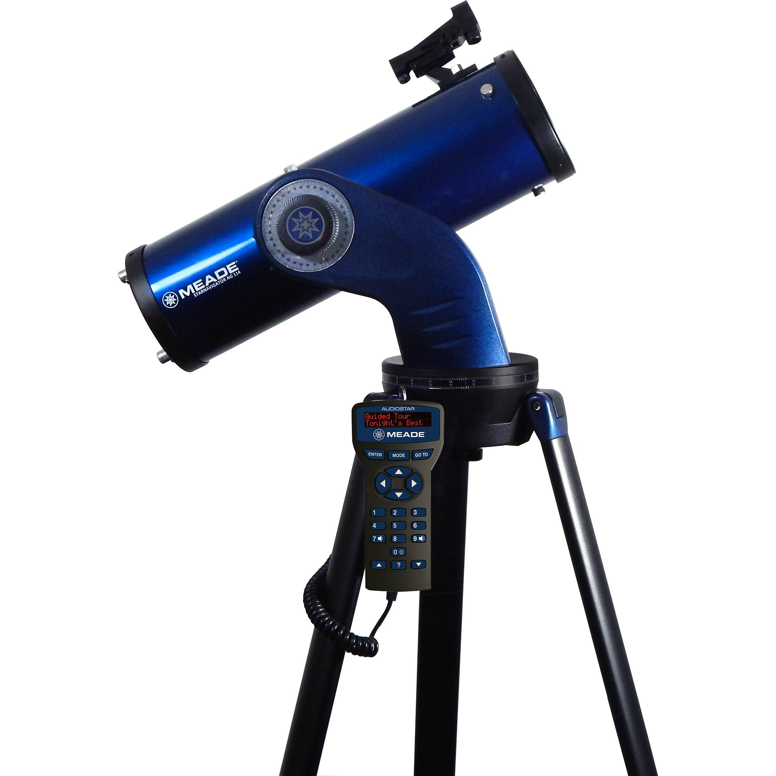 Meade StarNavigator NG 114mm F 88 GoTo Reflector Telescope