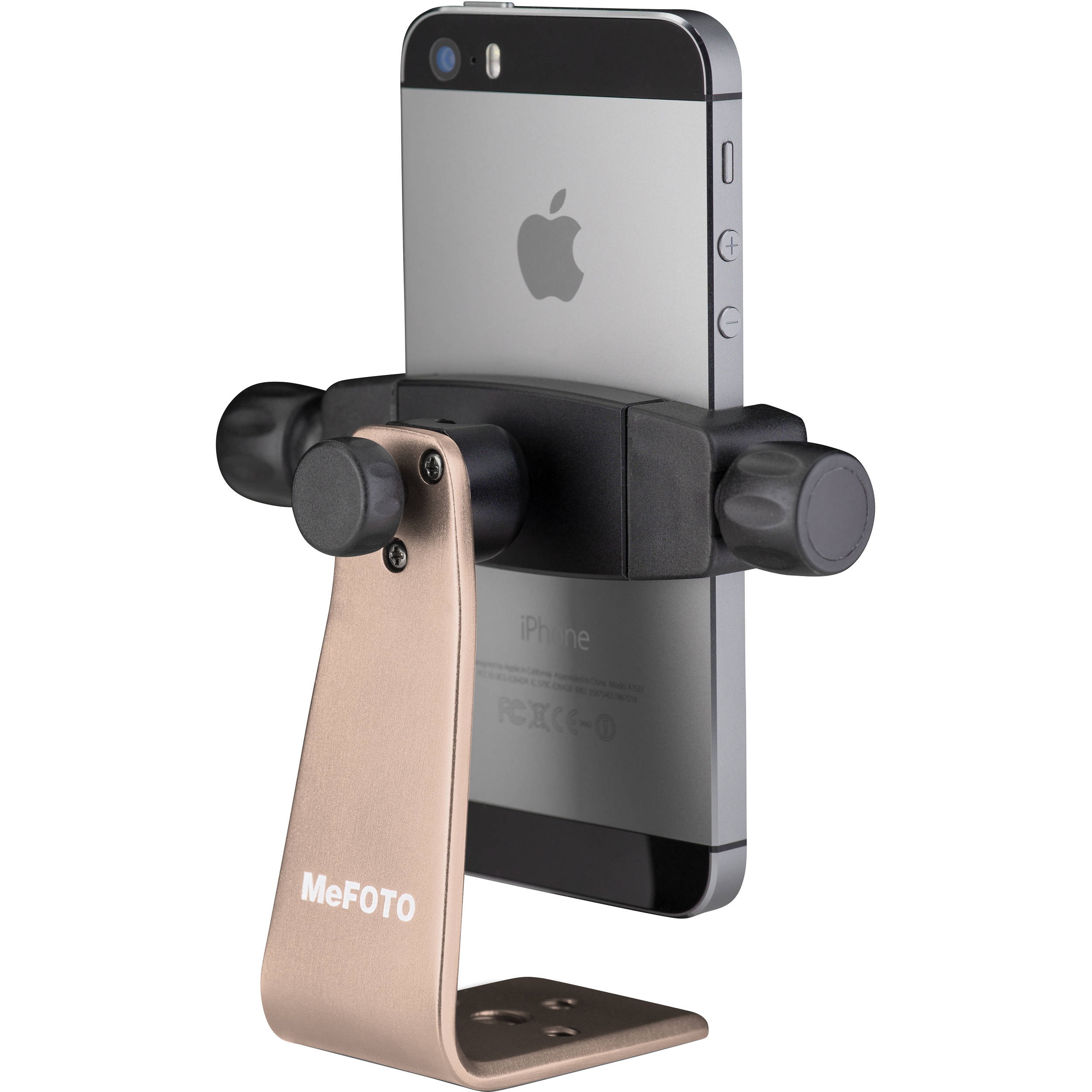 iphone tripod adapter mefoto sidekick360 smartphone tripod adapter gold 7036