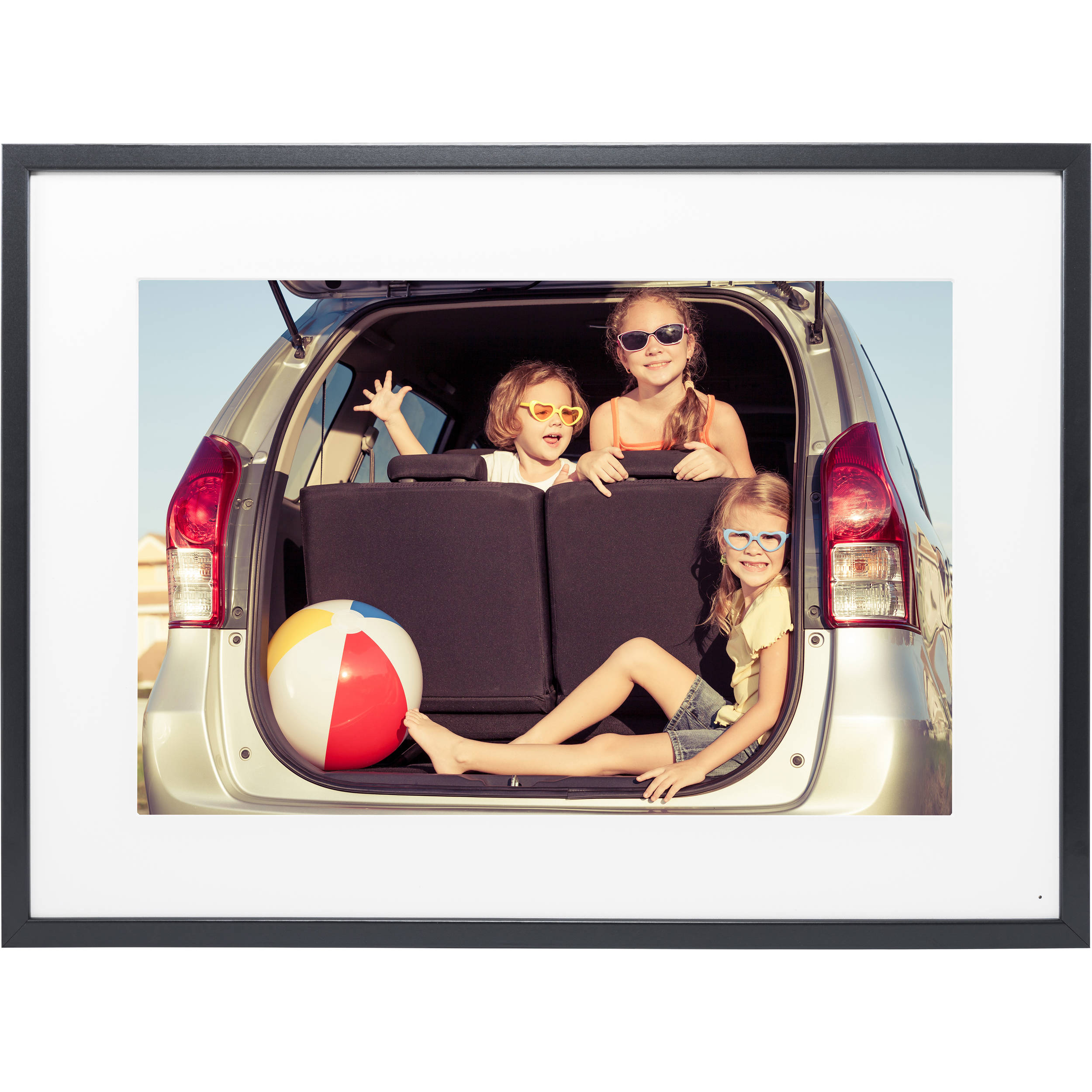 Digital picture frames albums bh photo video memento electronics 35 smart frame black jeuxipadfo Images