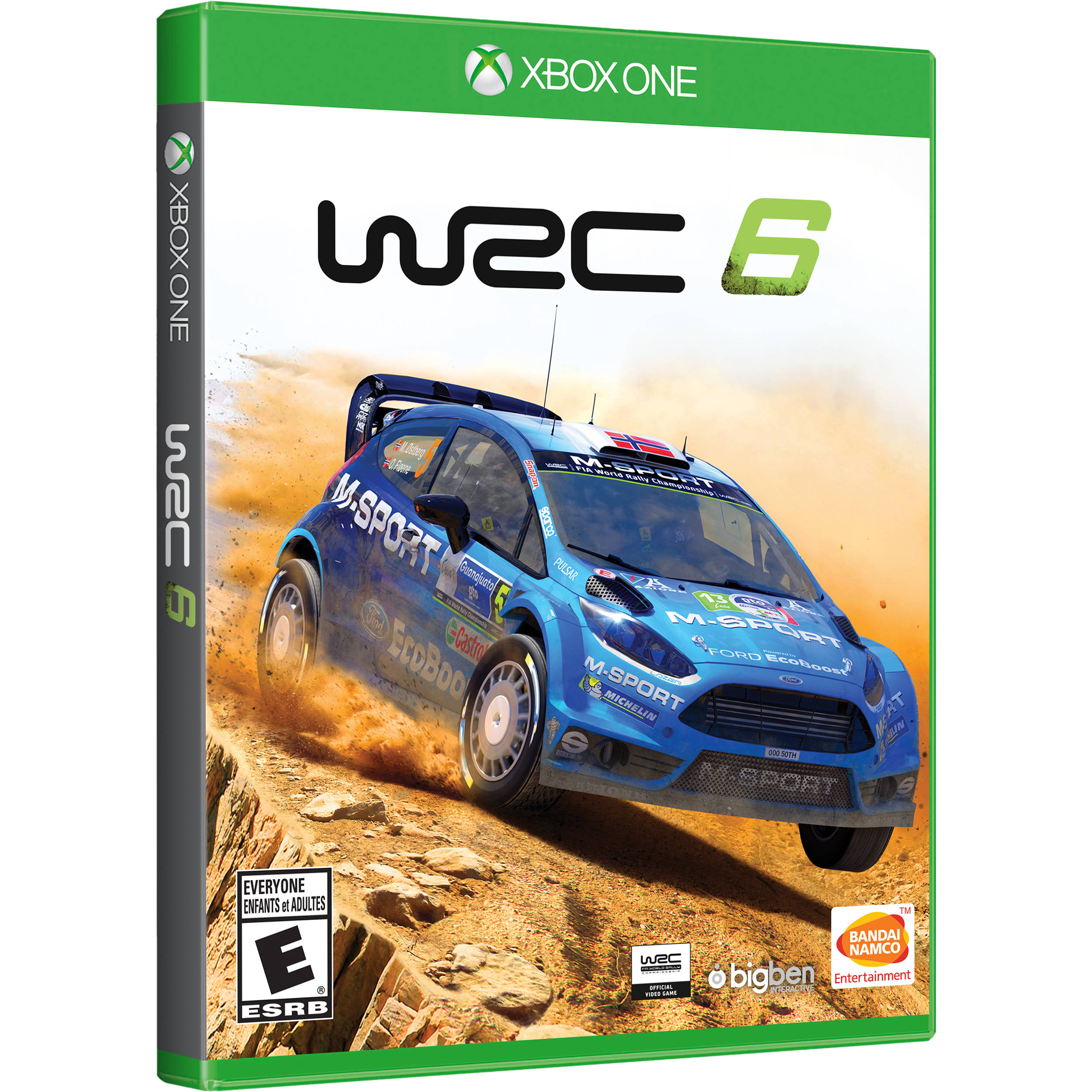 bandai namco wrc 6 xbox one 22082 b h photo video. Black Bedroom Furniture Sets. Home Design Ideas