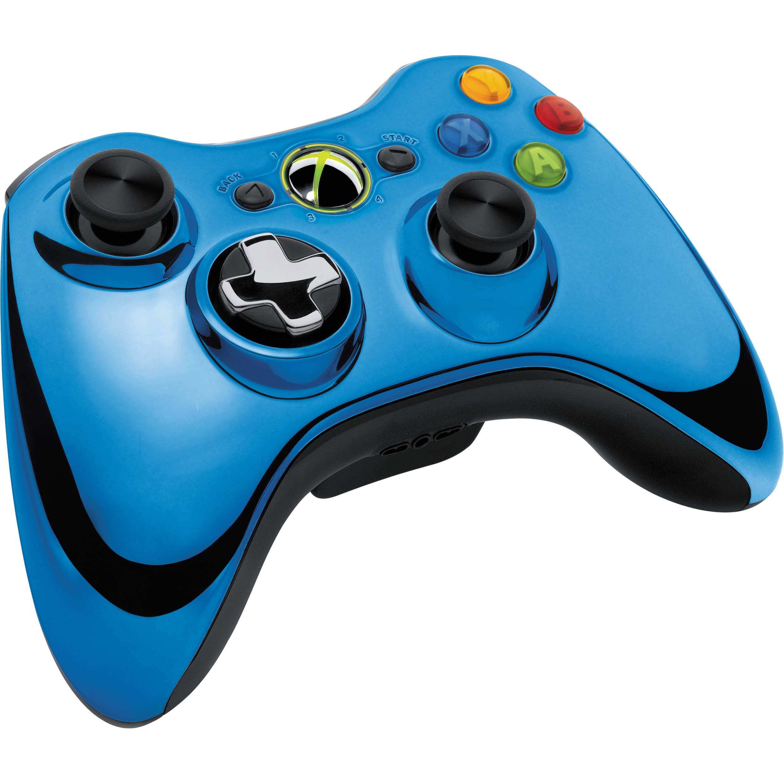Microsoft Xbox 360 Special Edition Chrome Series 43G00023 BampHXbox 360 Controller Chrome Series