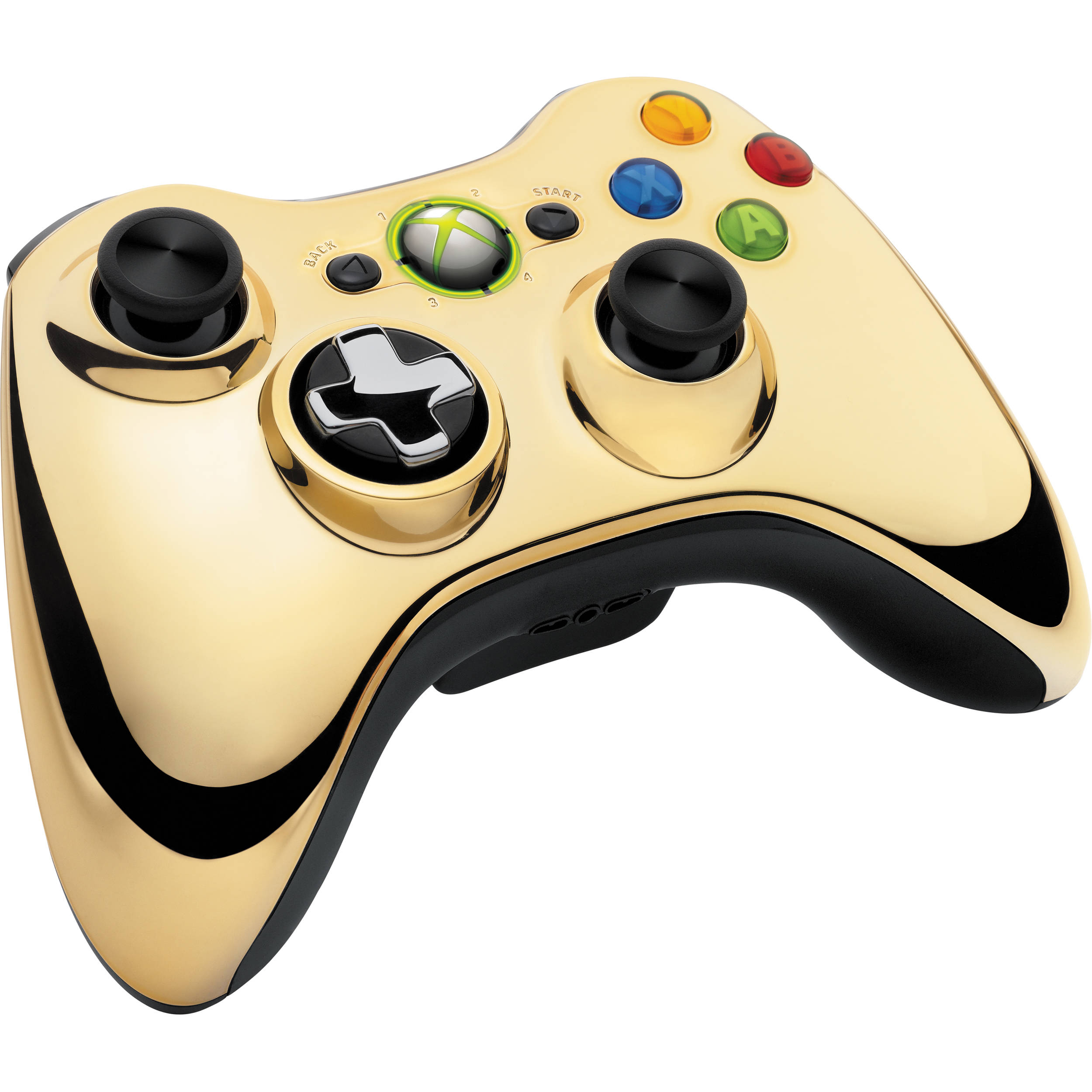 Microsoft Xbox 360 Special Edition Chrome Series 43G00054 BampHXbox 360 Controller Chrome Series