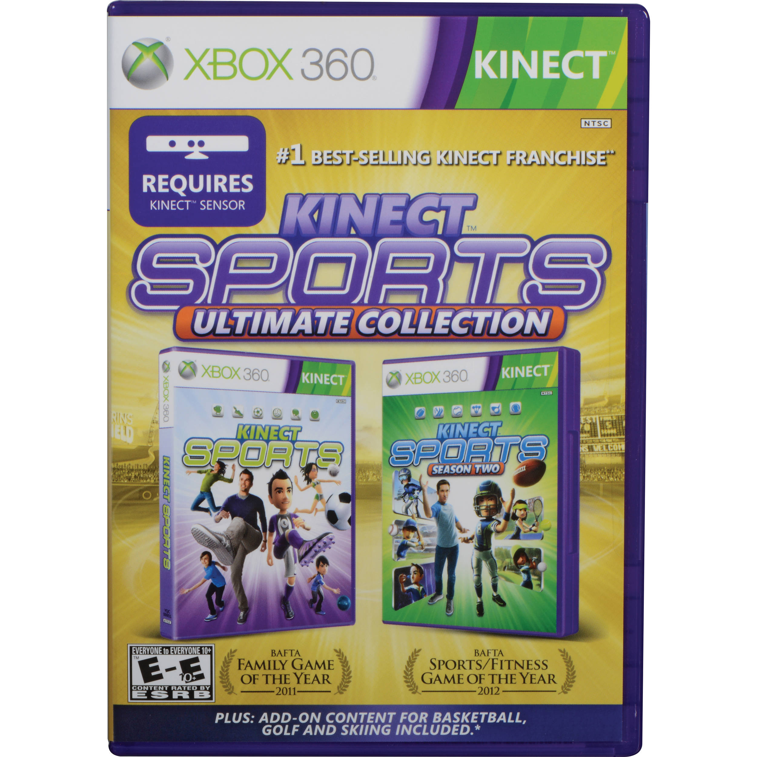 Ultimate Collection Jpg: Microsoft Kinect Sports Ultimate Collection (Xbox 360) 4GS