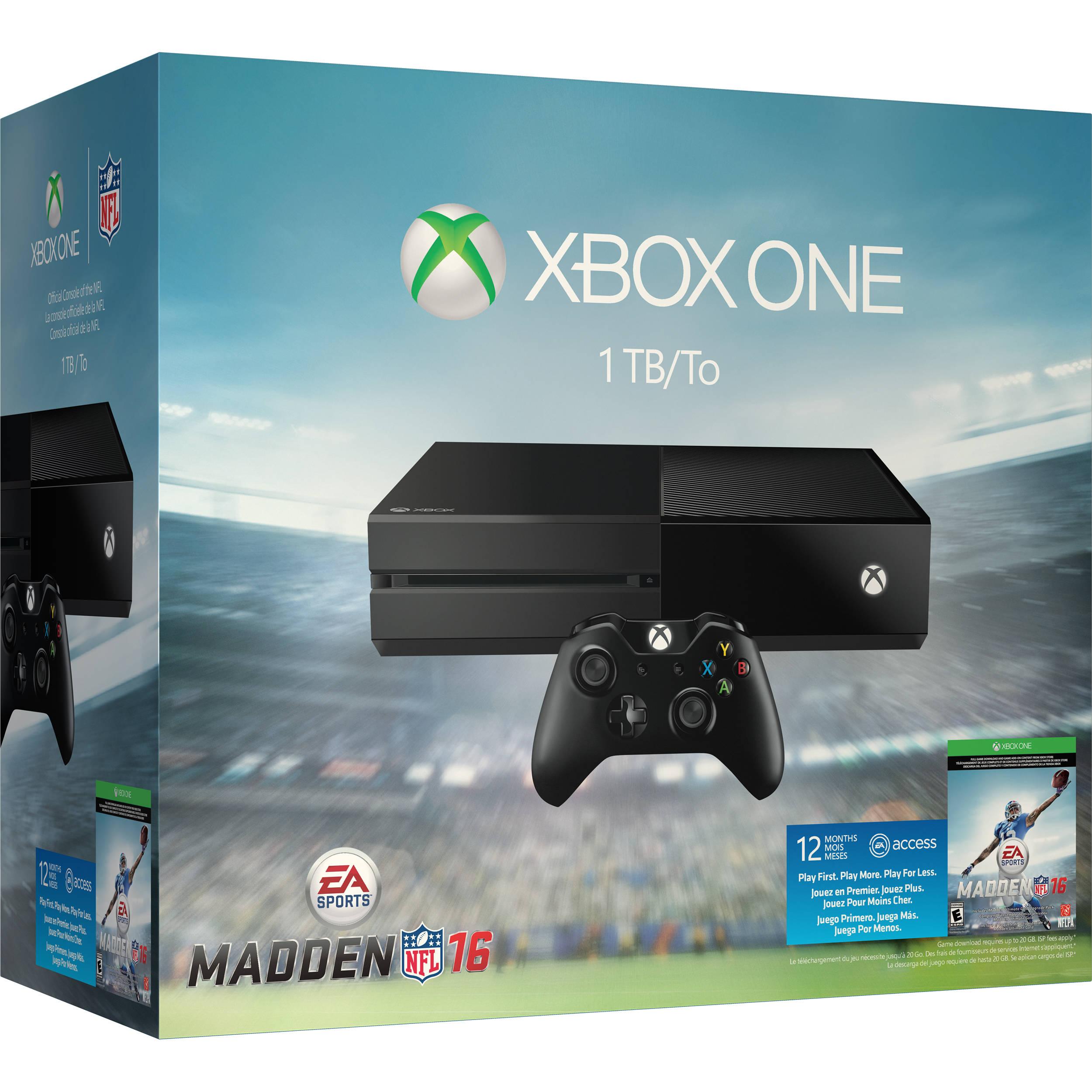 Microsoft Xbox One Madden NFL 16 Bundle KF6-00064 B&H Photo