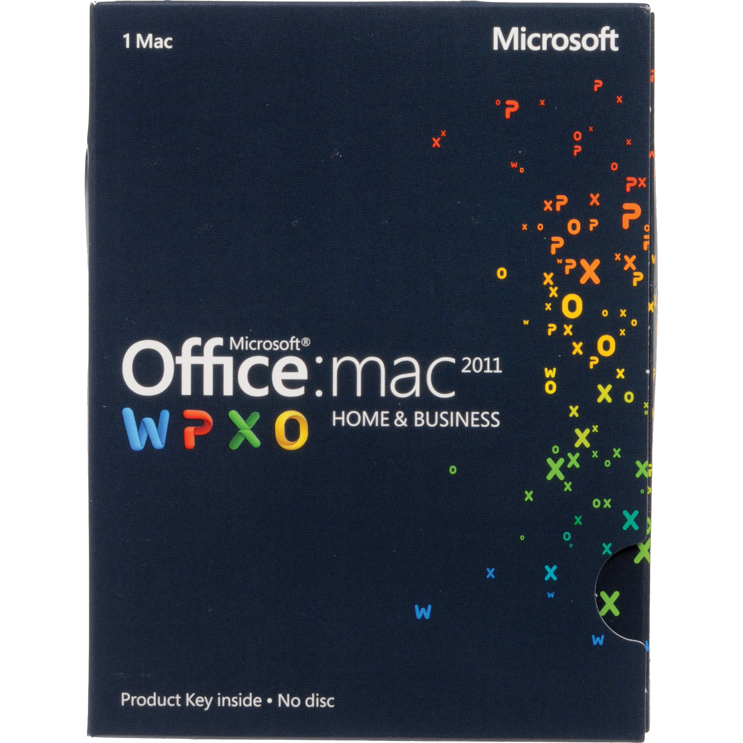 Office for Mac Home and Business 2011 (Product Key)