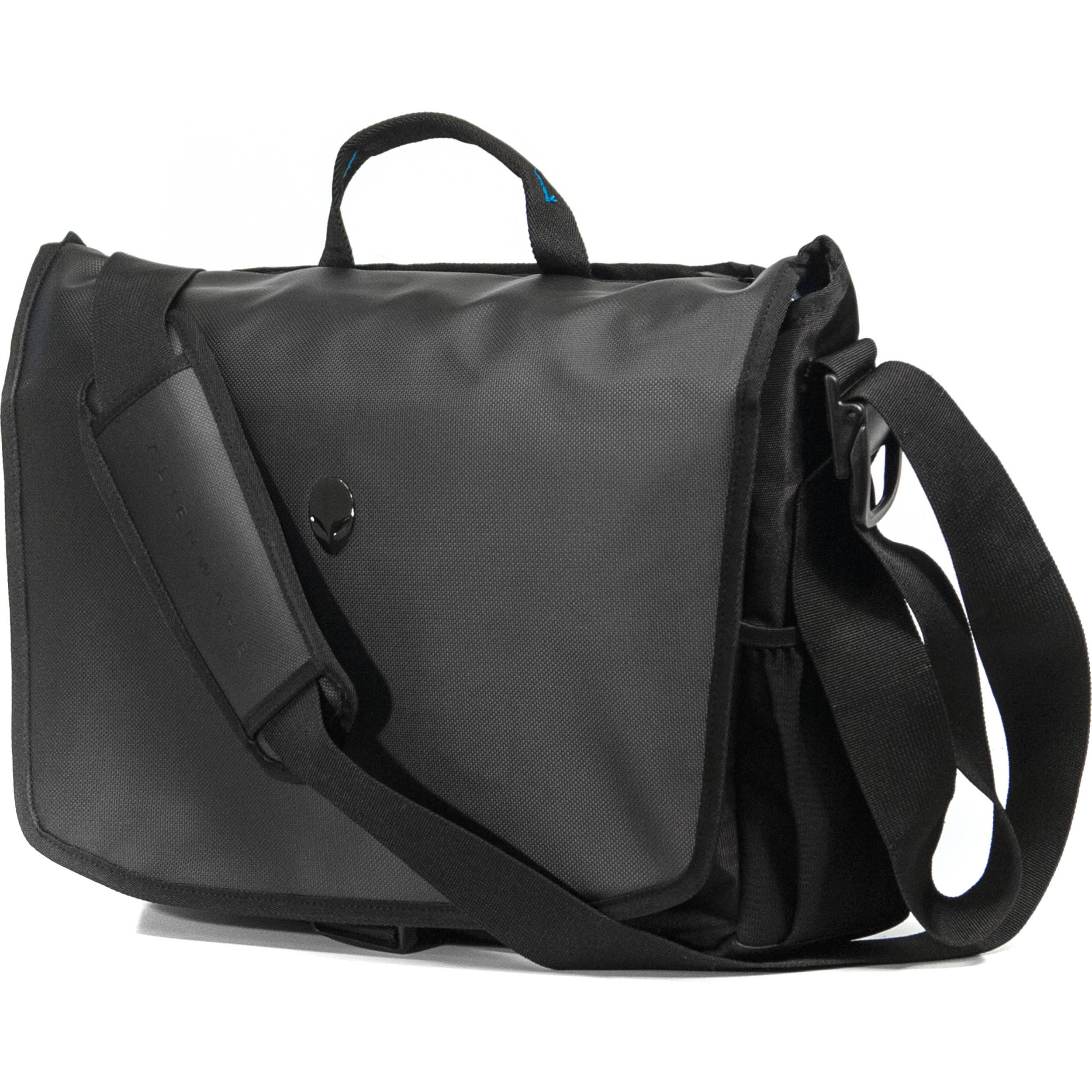 Mobile Edge Messenger Bag For Alienware Vindicator 2 0 13 To 17 3 R3 Black