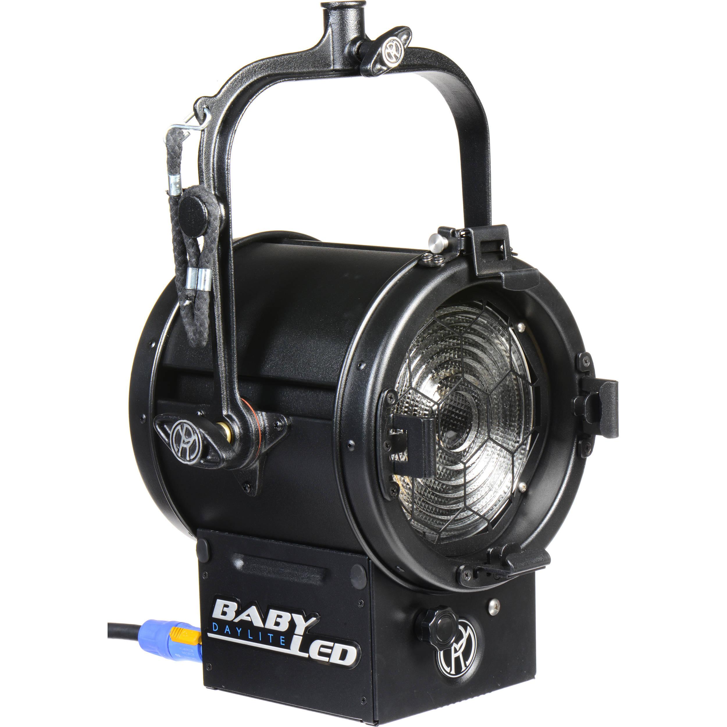 """Mole Richardson Fresnel: Mole-Richardson BabyLED 150W 6.0"""" Fresnel (Daylight) 8831"""