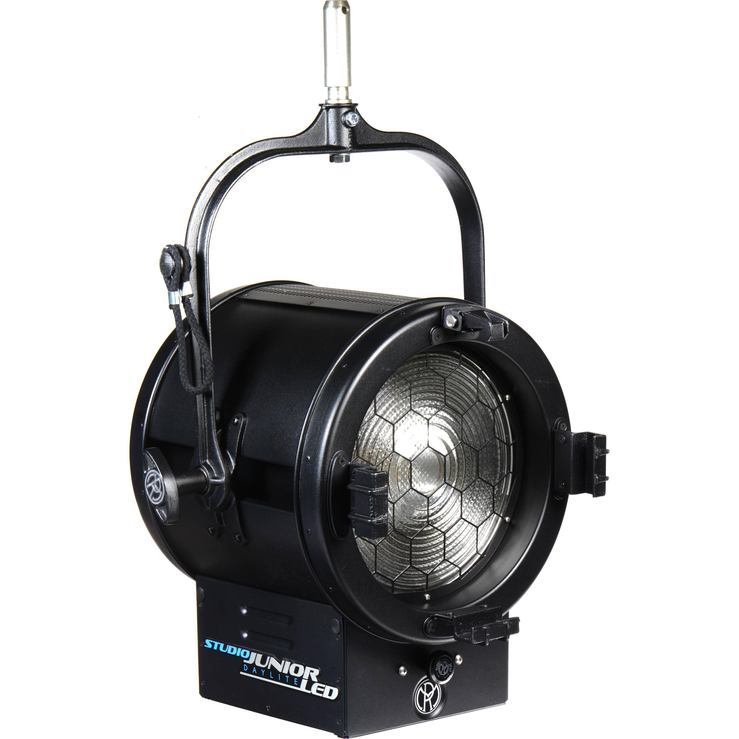 """Mole Richardson Fresnel: Mole-Richardson 400W JuniorLED 10"""" Daylight Fresnel 8871"""