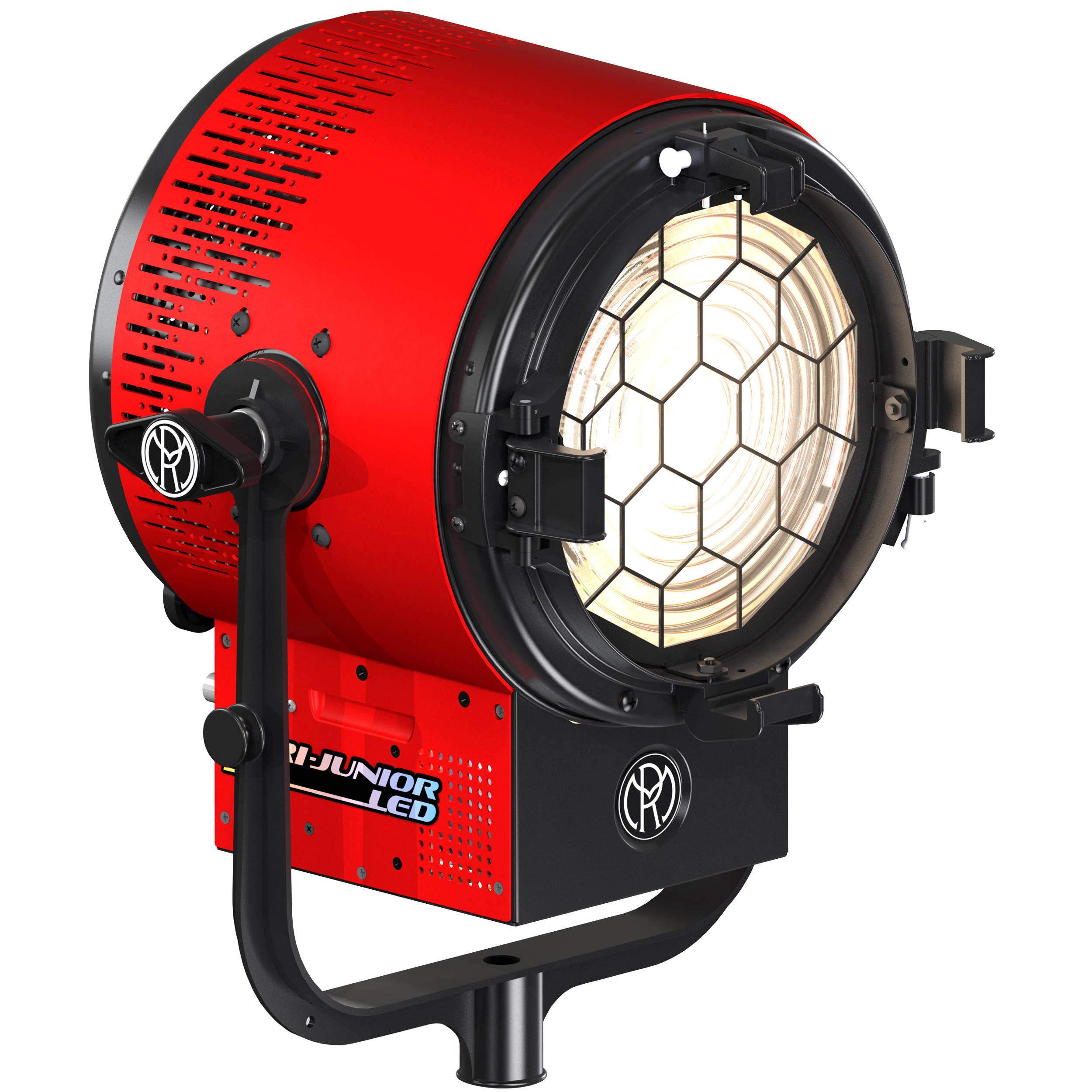 Mole Richardson Fresnel: Mole-Richardson 300W Vari-Junior LED Fresnel 9511 B&H Photo