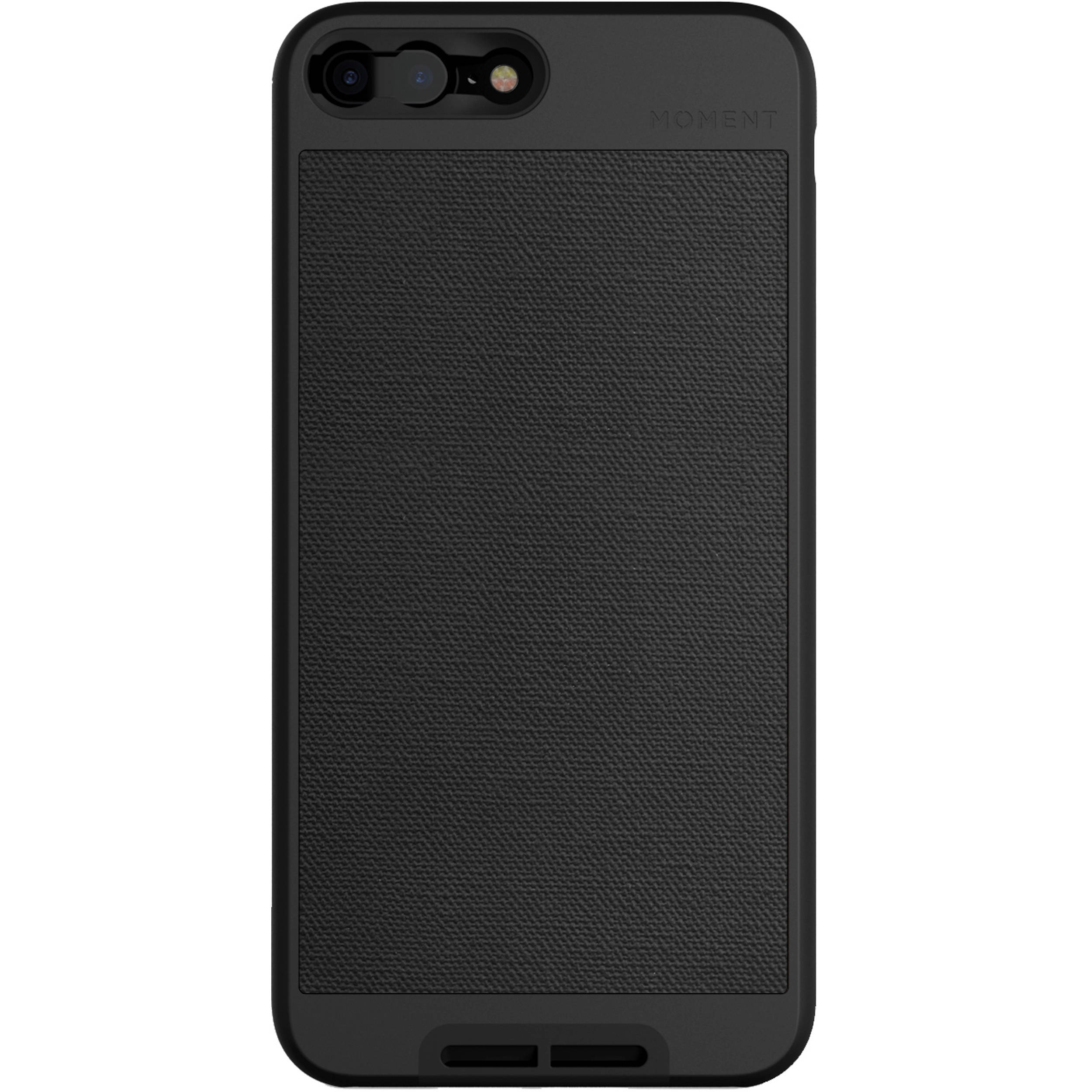 Moment Photo Case for iPhone 7 Plus 8 Plus (Black Canvas) 65b37c9ea