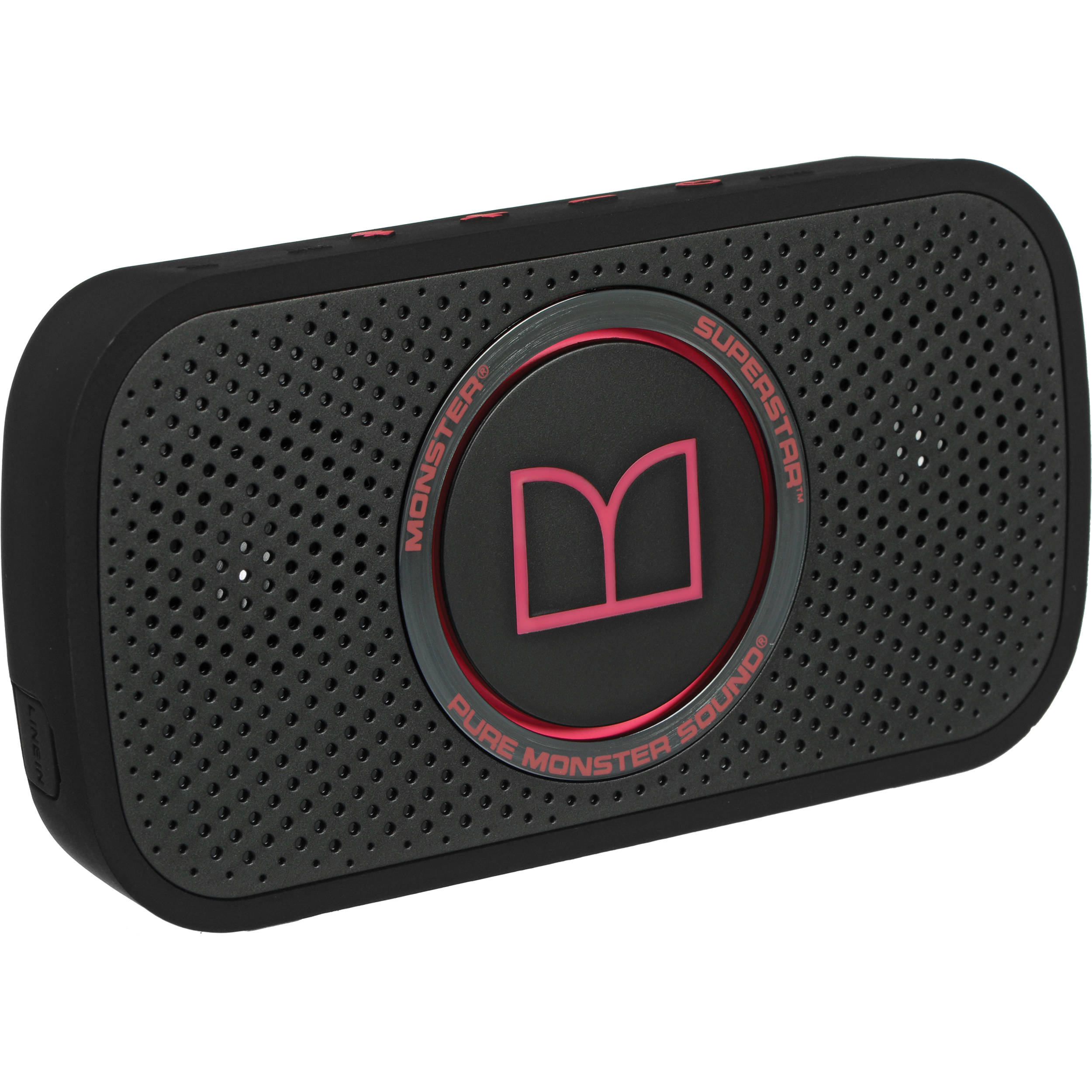 Monster Superstar High Definition Bluetooth Speaker (Pink)