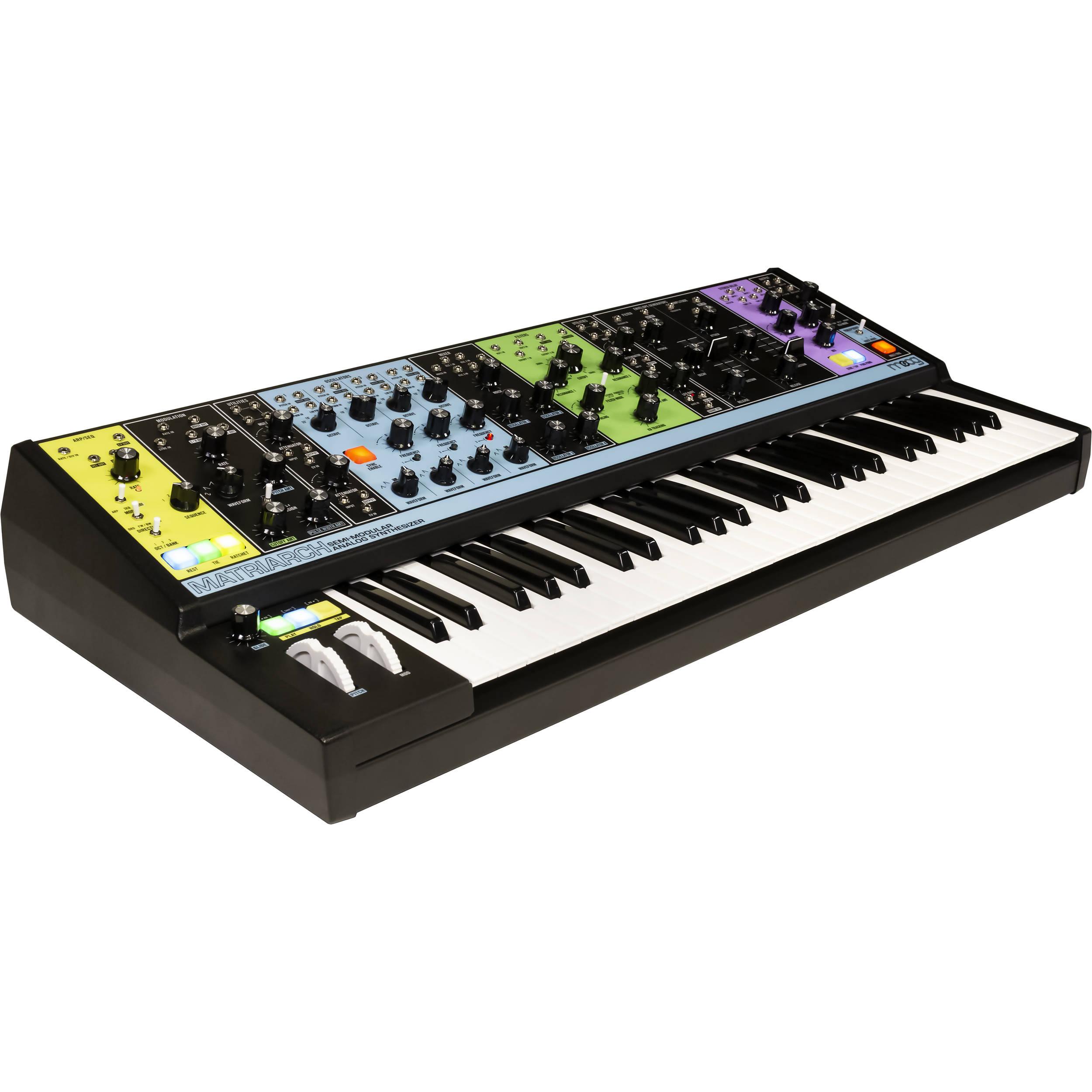 moog matriarch 4 note paraphonic semi modular analog mod matr 01. Black Bedroom Furniture Sets. Home Design Ideas