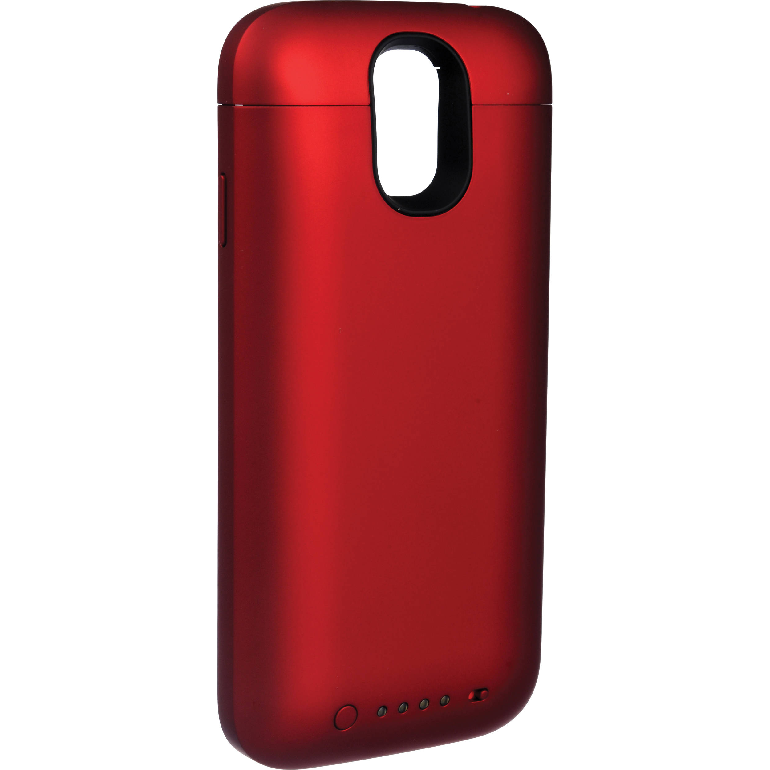 newest collection 4b1a0 781ac mophie juice pack Battery Case for Galaxy S4 (Red)