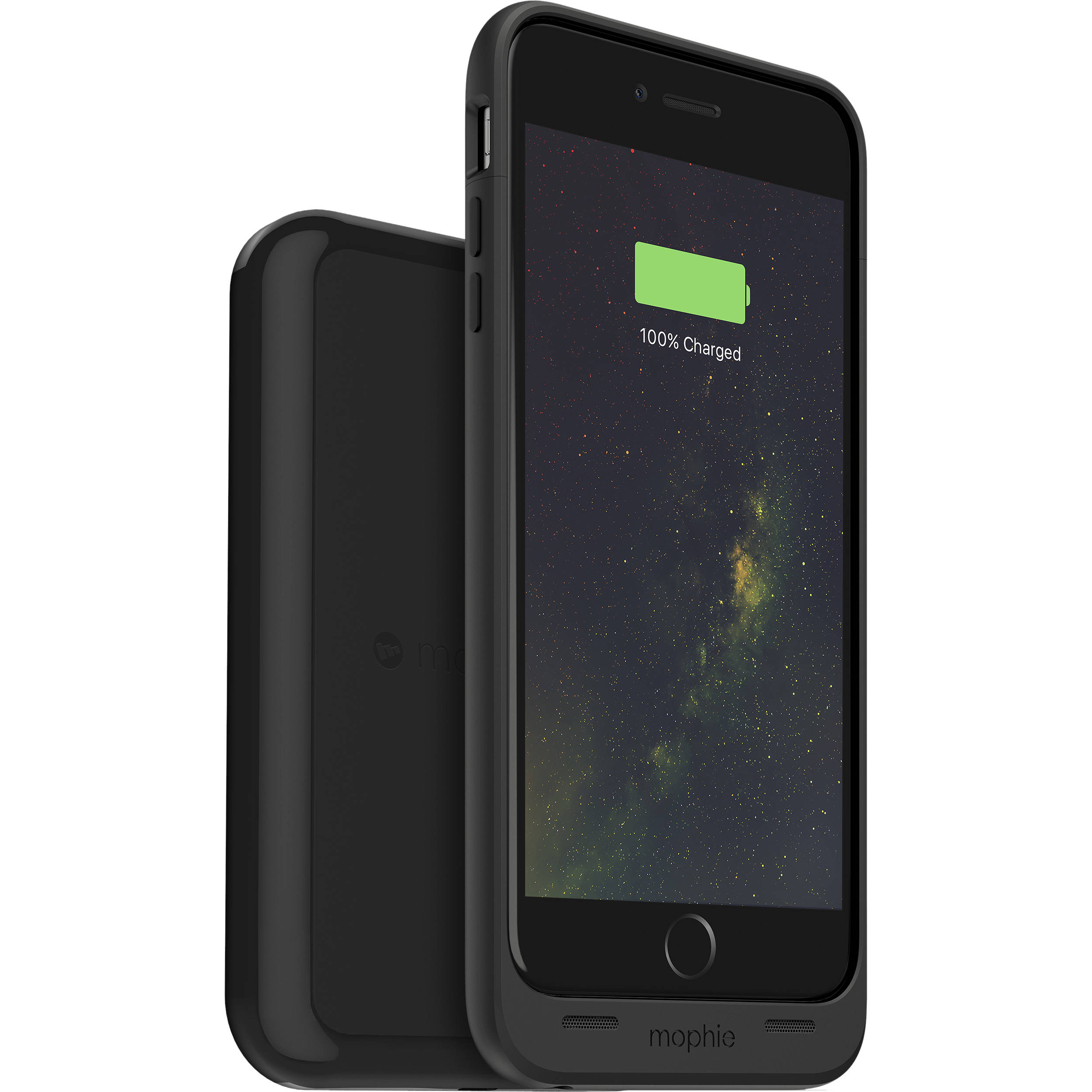 mophie juice pack wireless battery case for iphone 6 3411 b h. Black Bedroom Furniture Sets. Home Design Ideas