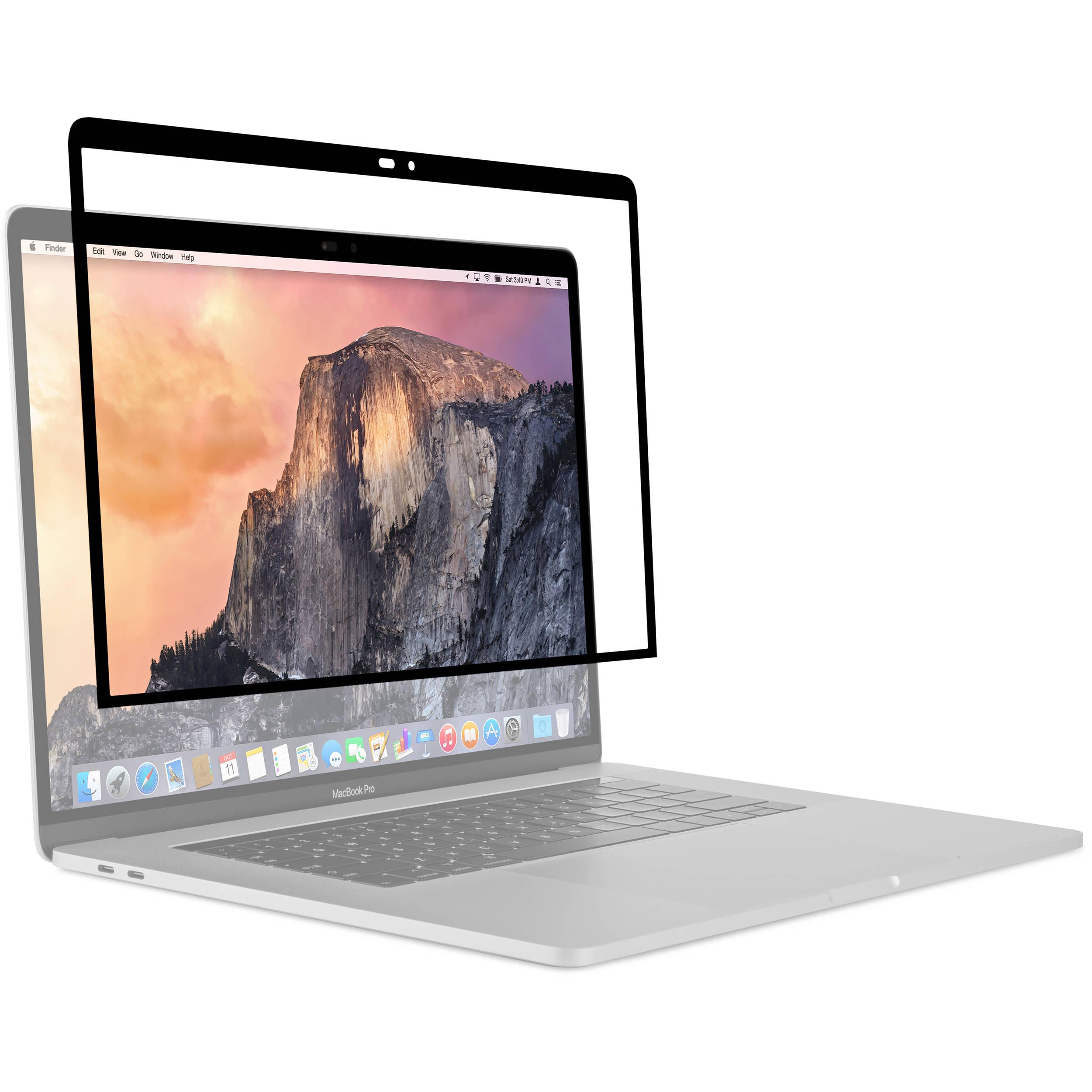 moshi macbook pro 15  Moshi iVisor Screen Protector for MacBook Pro 99MO040910 B&H