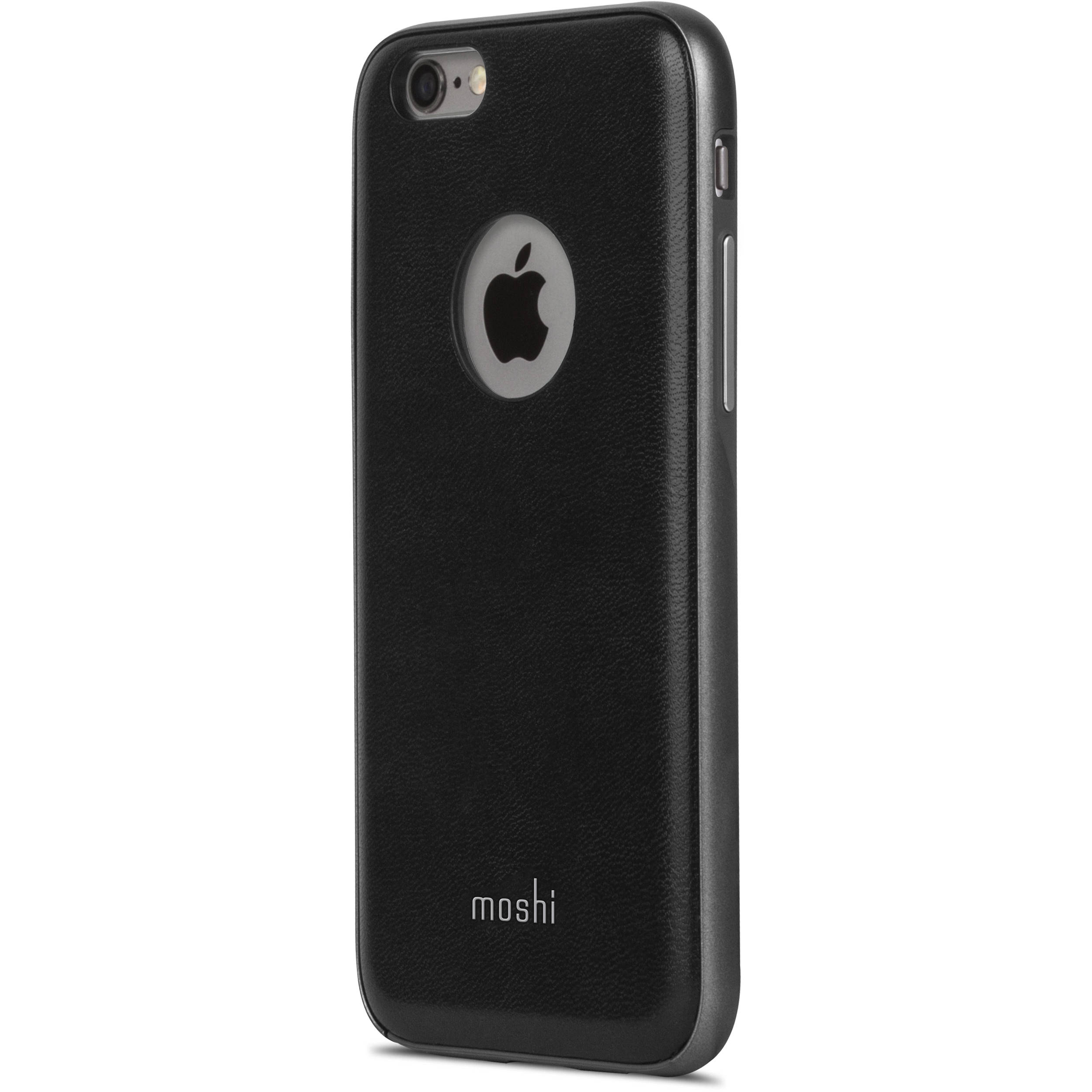 moshi iglaze napa case for iphone 6 6s black 99mo079002 b h. Black Bedroom Furniture Sets. Home Design Ideas