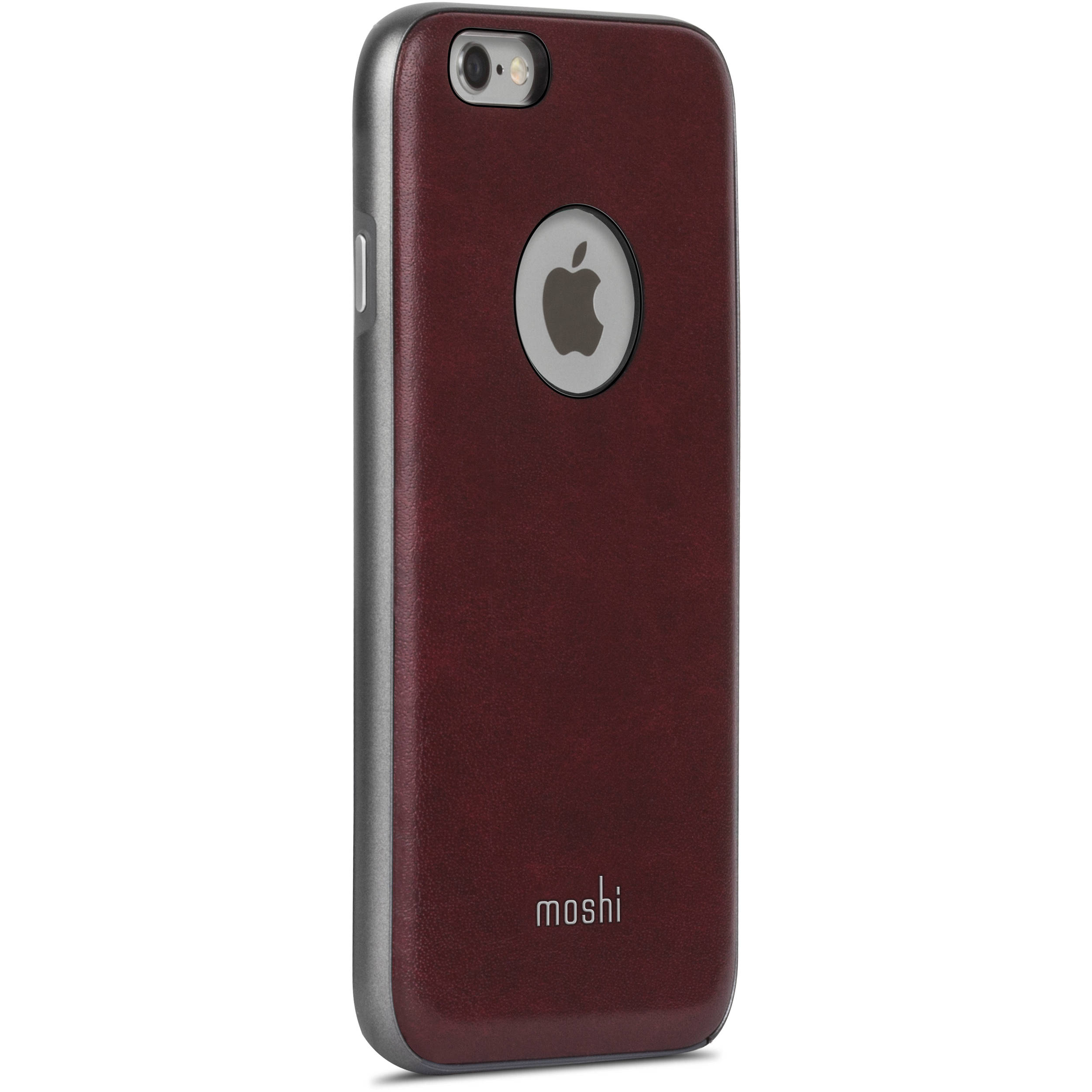moshi napa case for iphone 6 6s burgundy red 99mo079321 b h. Black Bedroom Furniture Sets. Home Design Ideas