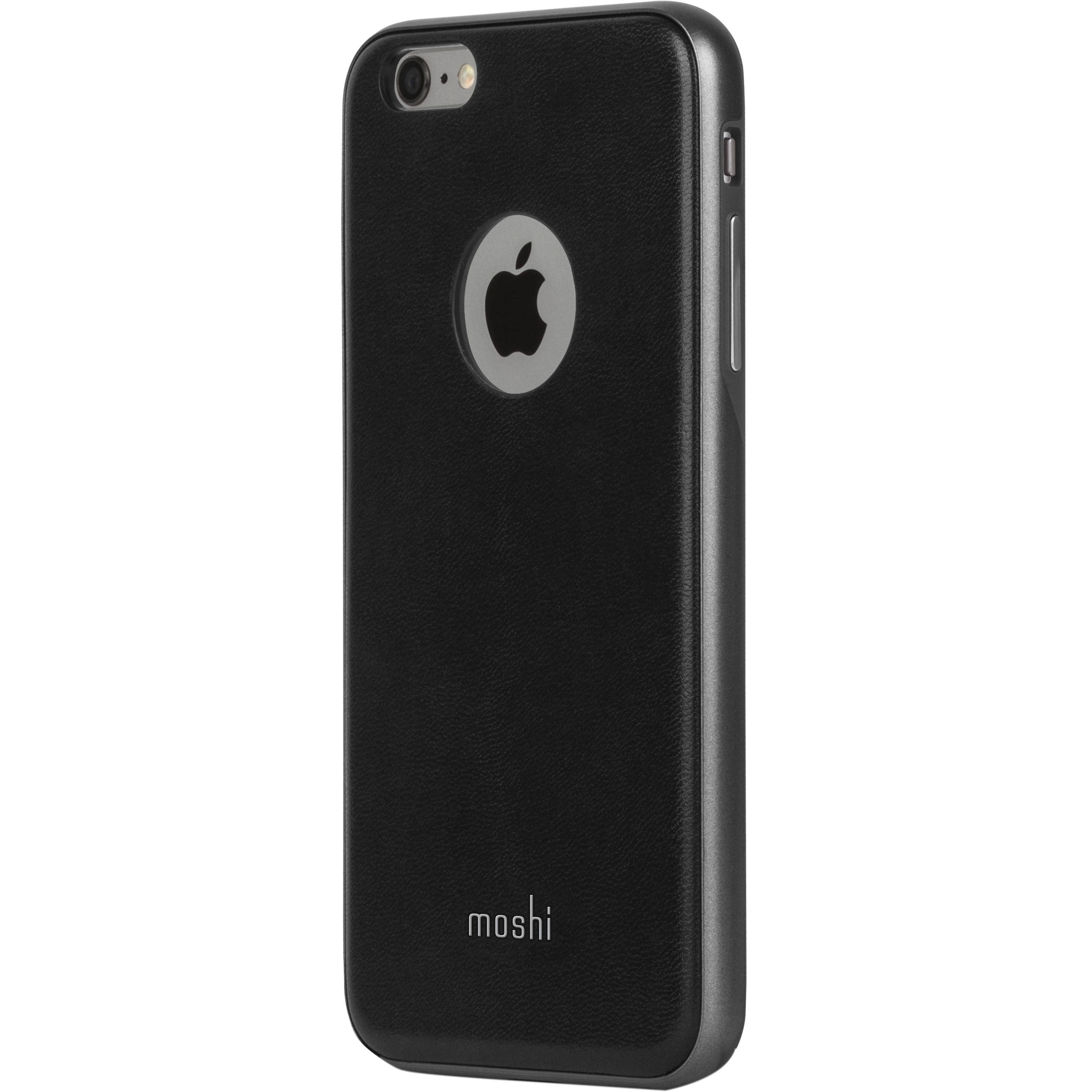 moshi iglaze napa case for iphone 6 plus 6s plus 99mo080002 b h. Black Bedroom Furniture Sets. Home Design Ideas