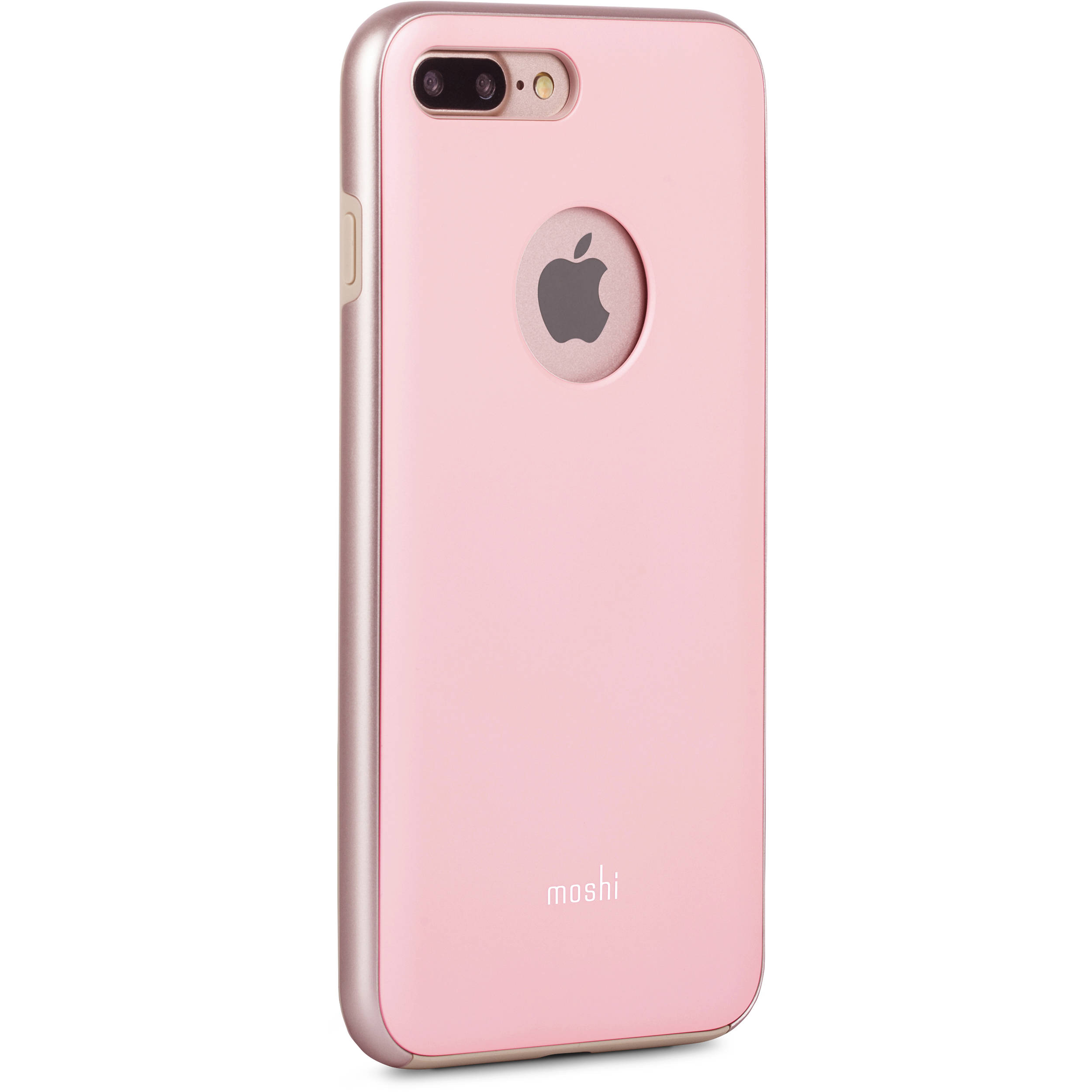 moshi iglaze case for iphone 7 plus pink 99mo090301 b h photo. Black Bedroom Furniture Sets. Home Design Ideas