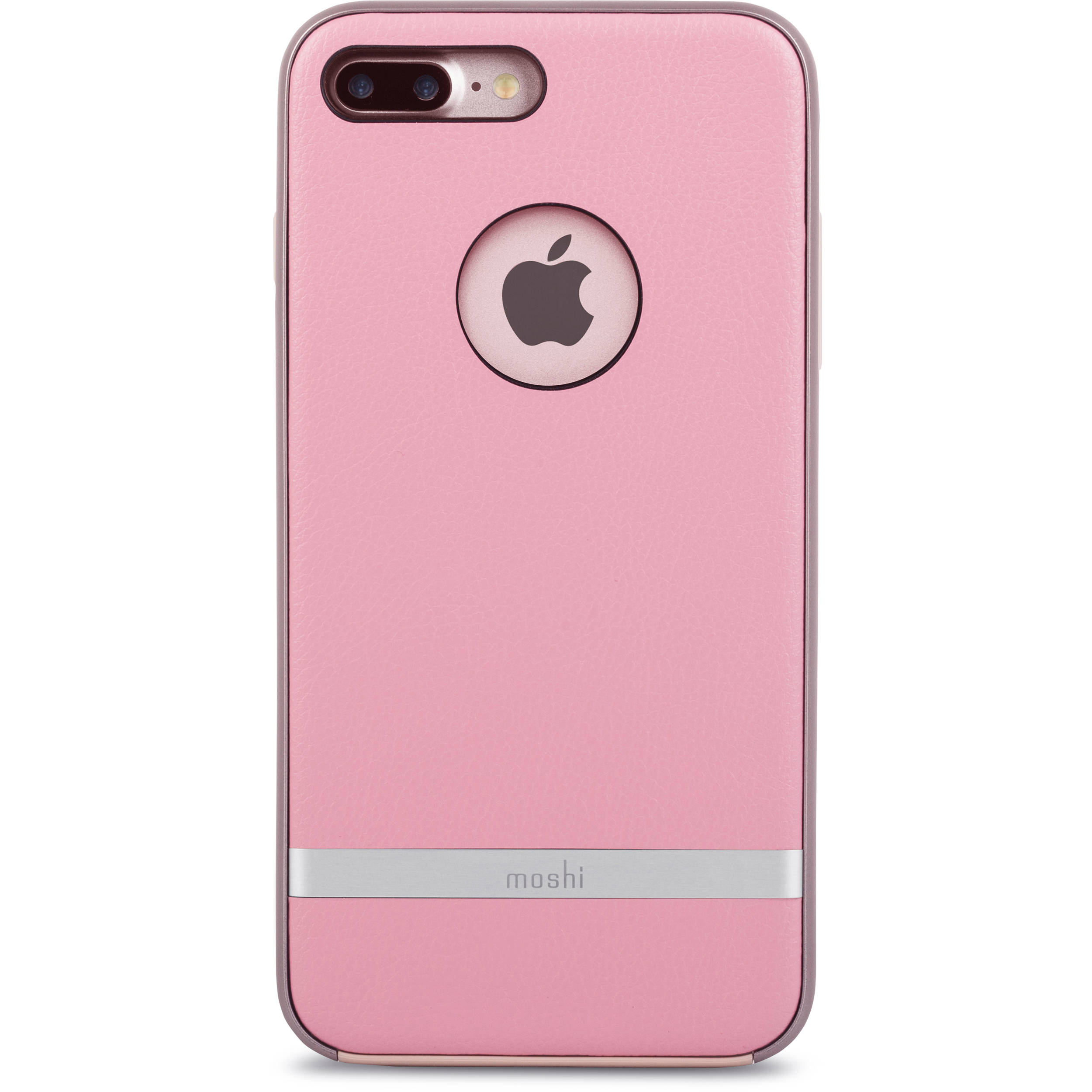 iphone 7 plus. moshi napa case for iphone 7 plus (pink) iphone