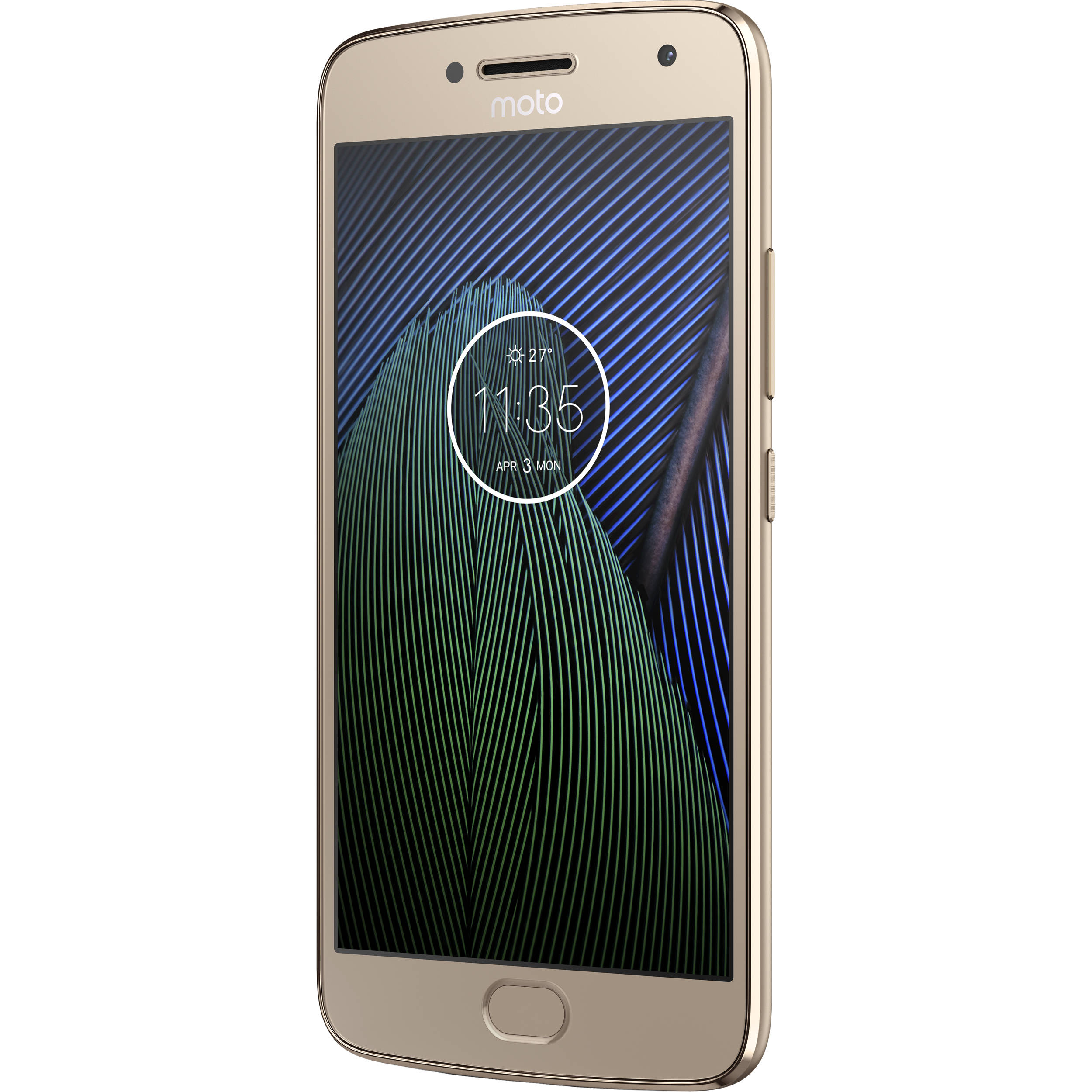 Moto Moto G5 Plus XT1687 64GB Smartphone 01109NARTL B&H Photo