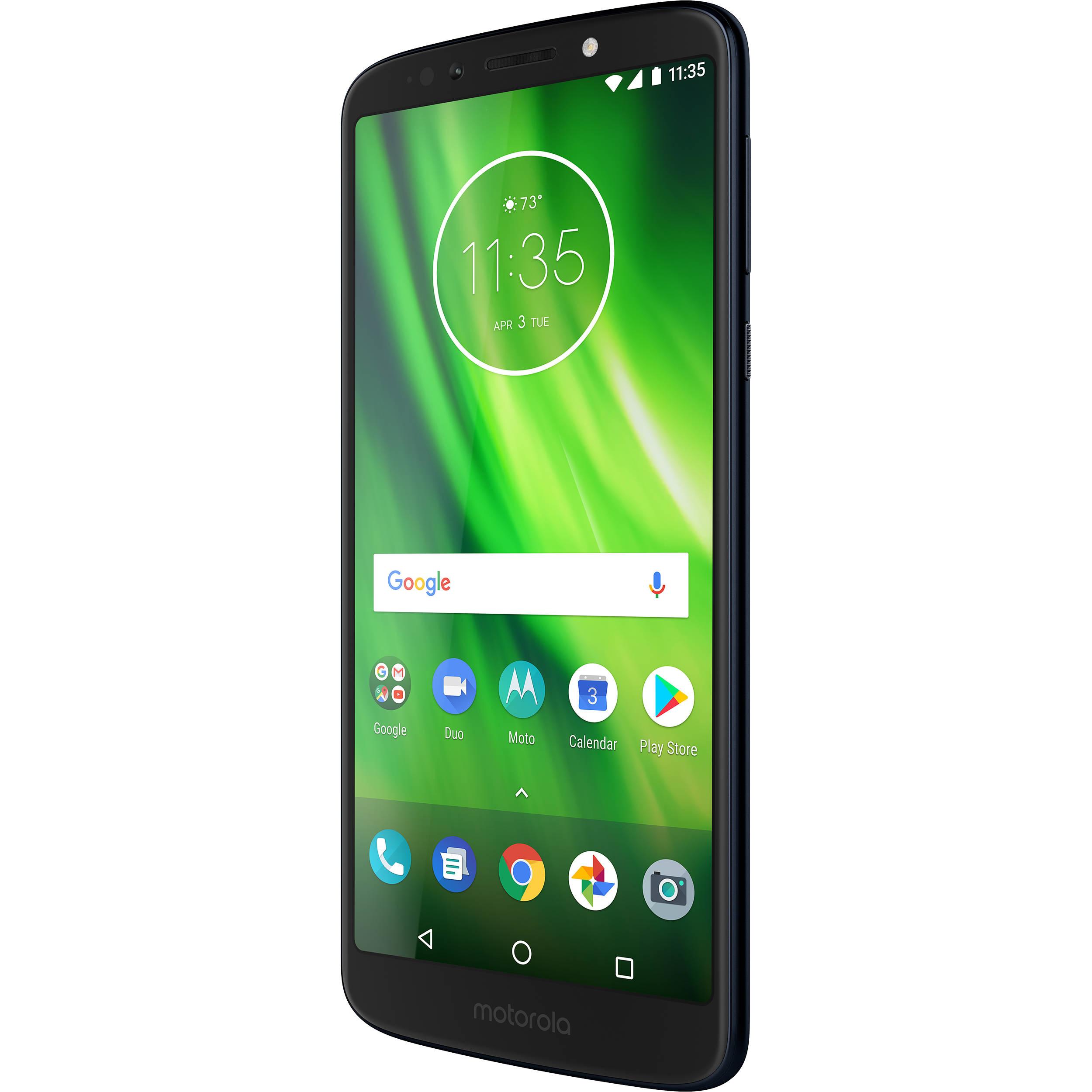 5a61553c3 Moto Moto G6 Play 32GB Smartphone (Unlocked) PAA30001US B H