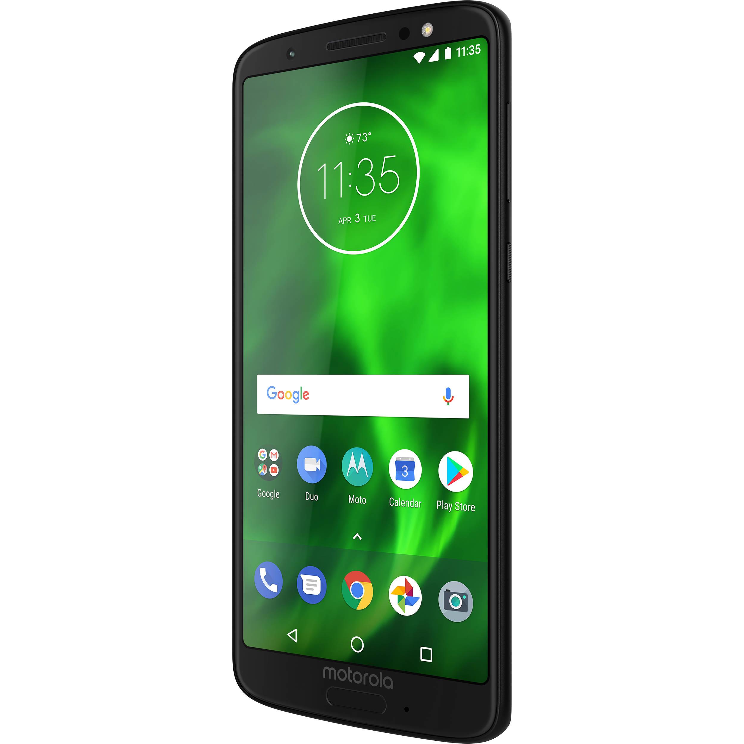 30f07247b Moto Moto G6 32GB Smartphone (Unlocked